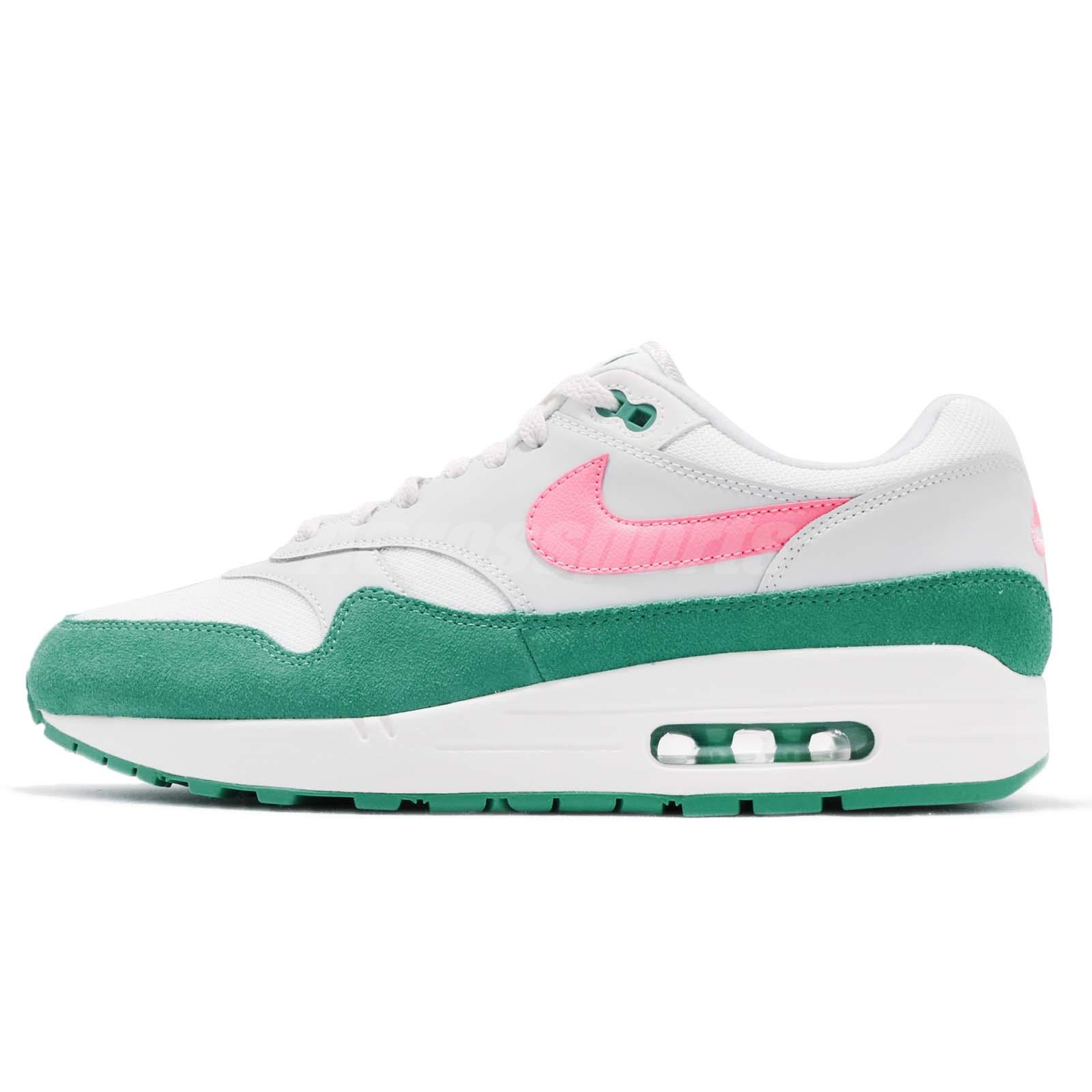 de326a501426 Nike Air Max 1 Watermelon South Beach Green Men Running Shoes Sneaker  AH8145-106