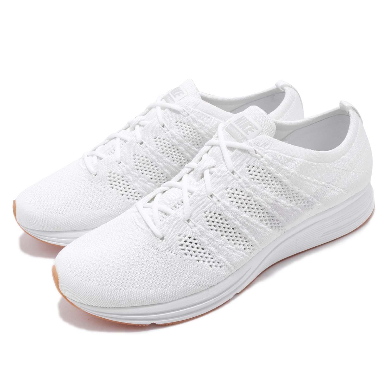Details about Nike Flyknit Trainer Reflective White Gum Men Running Shoes  Sneakers AH8396-102 d5e495eb3
