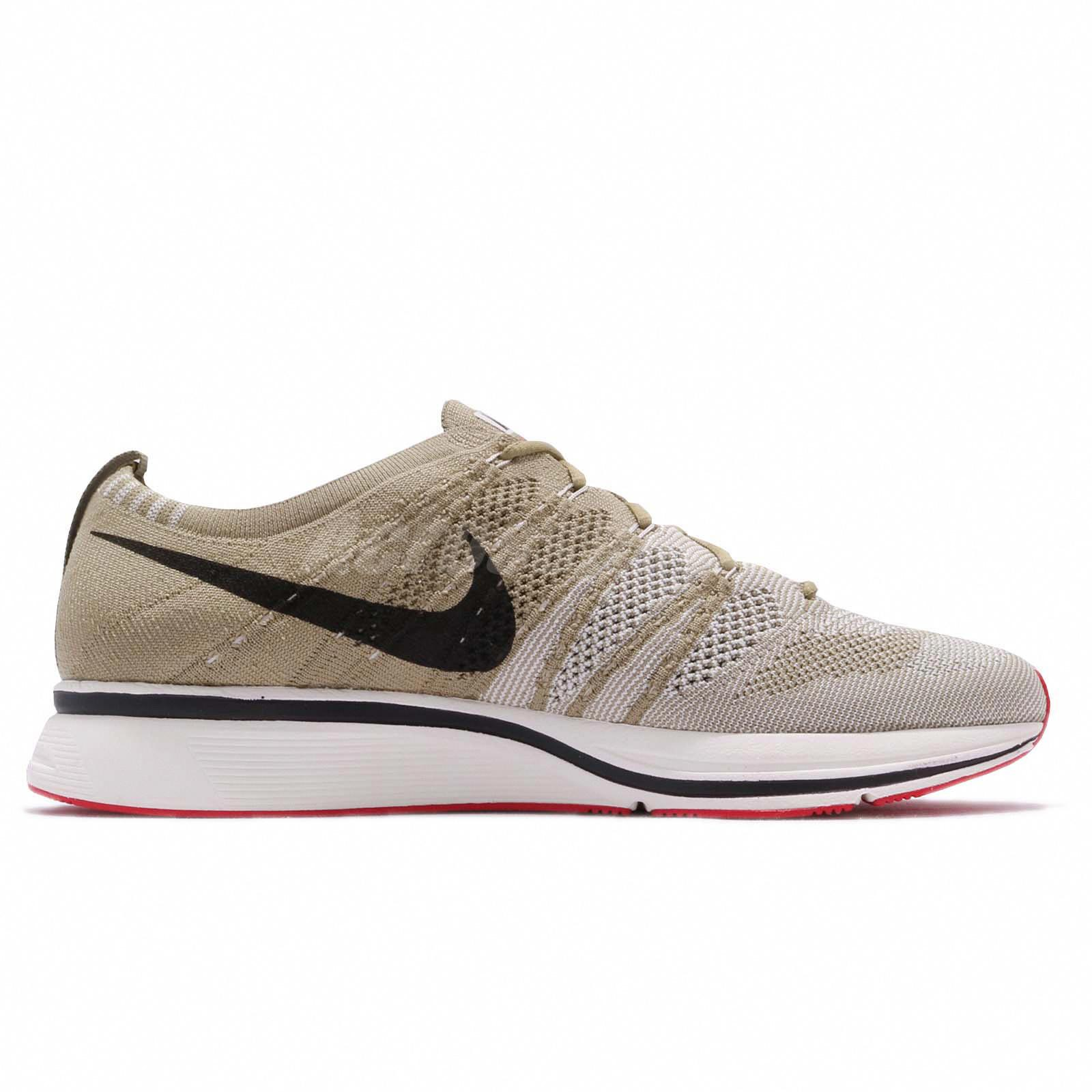 b00bd52bf738 Nike Flyknit Trainer Neutral Olive Velvet Brown Men Shoes Sneakers ...