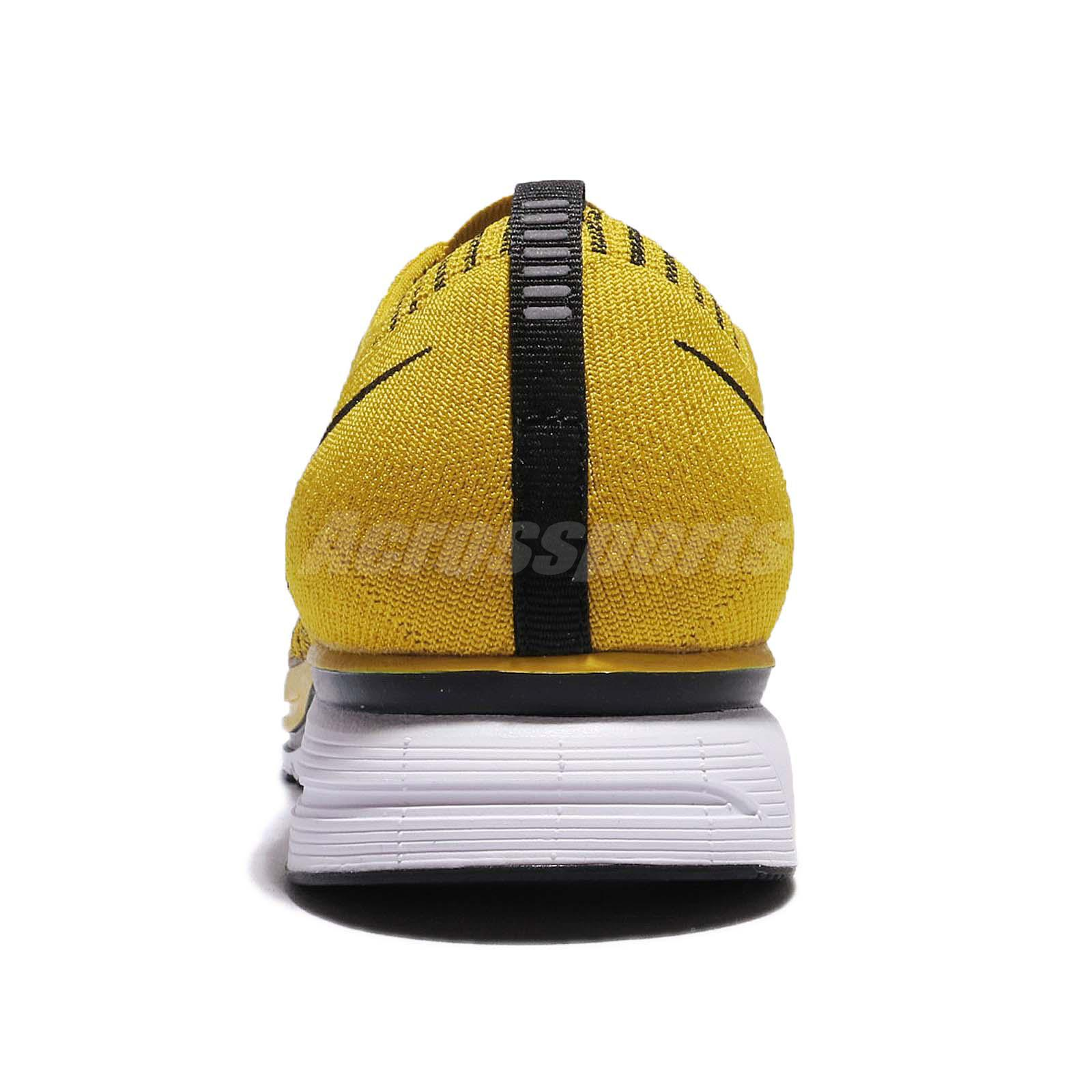 71b2248d42dd0 Nike Flyknit Trainer Bright Citron Black Men Running Shoes Sneakers ...