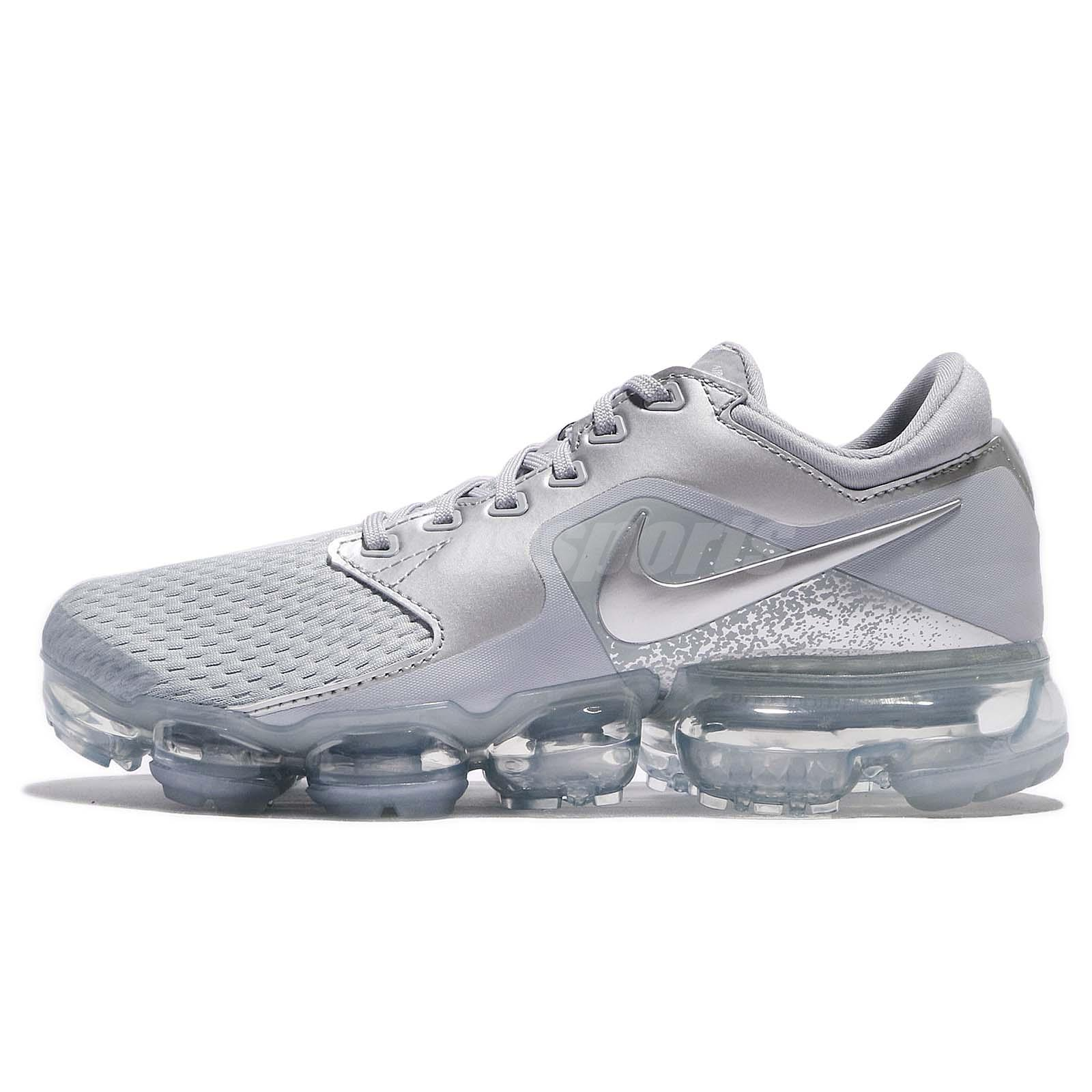 Air Wmns Sneakers Running Nike Grey Women Shoes Wolf Silver Vapormax E2IYWH9D