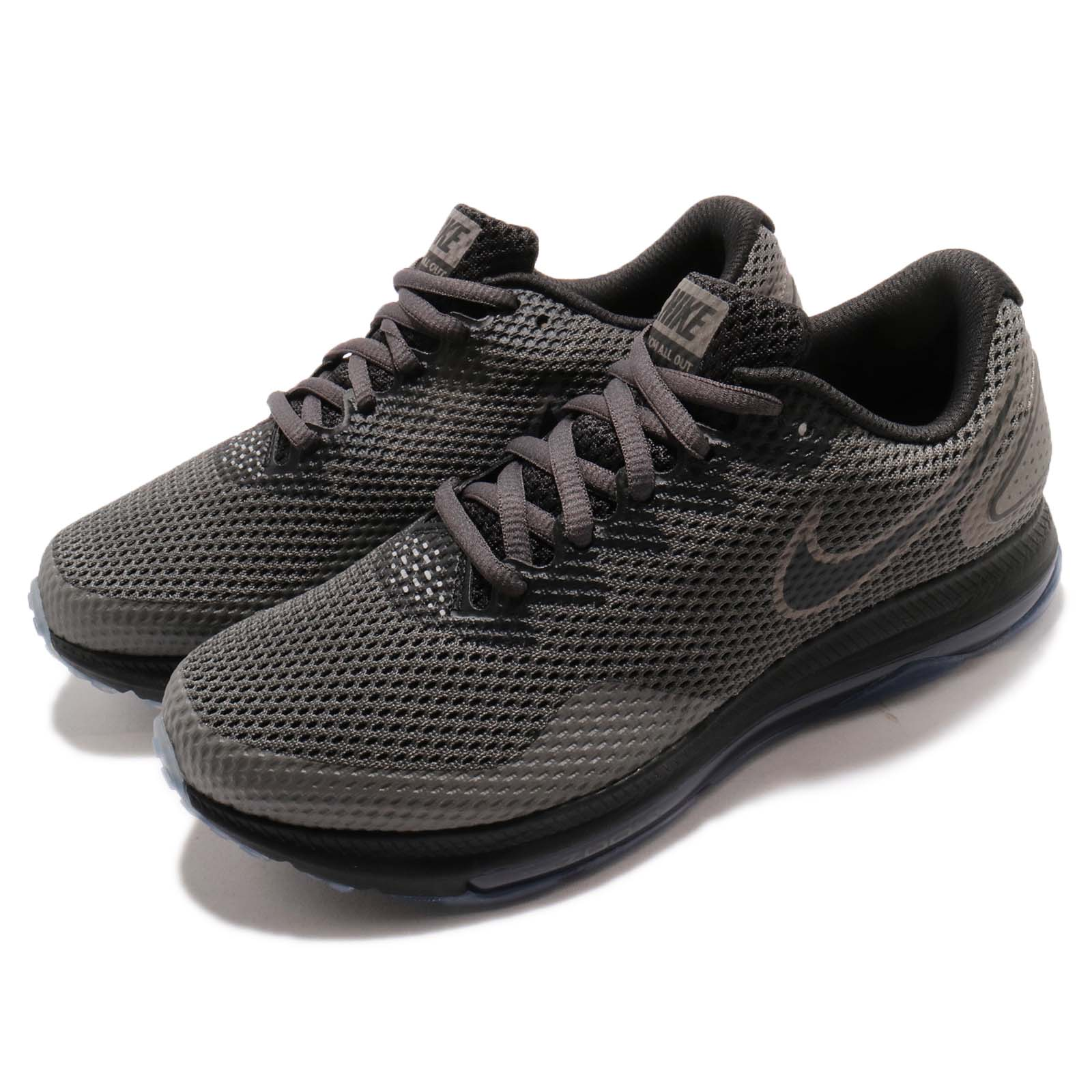 1b9be7fcaaf Details about Nike Wmns Zoom All Out Low 2 Grey Black Air Max Women Running  Shoes AJ0036-002