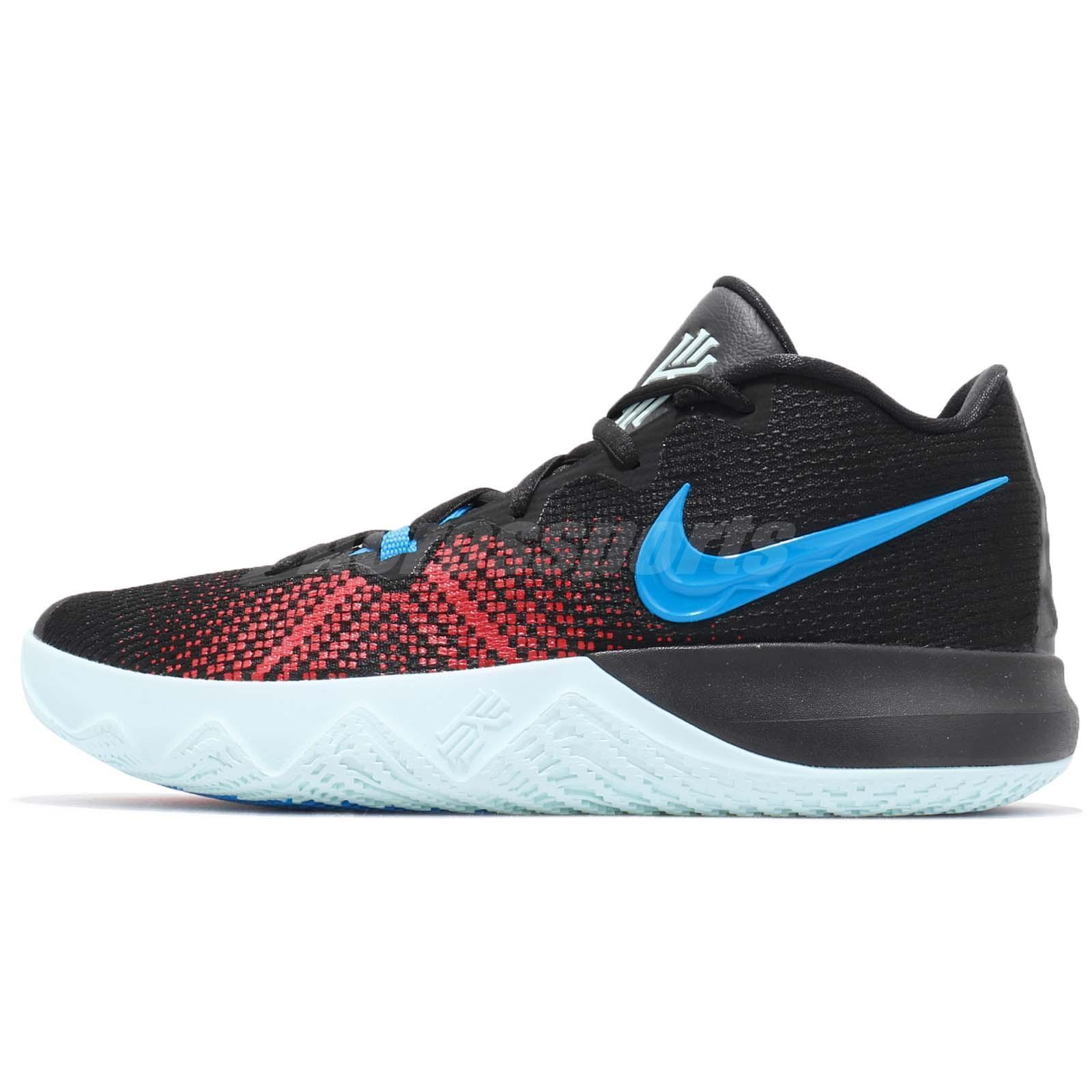 b3dc87b258d9 Nike Kyrie Flytrap EP Irving Black Blue Red Men Basketball Shoes AJ1935-002