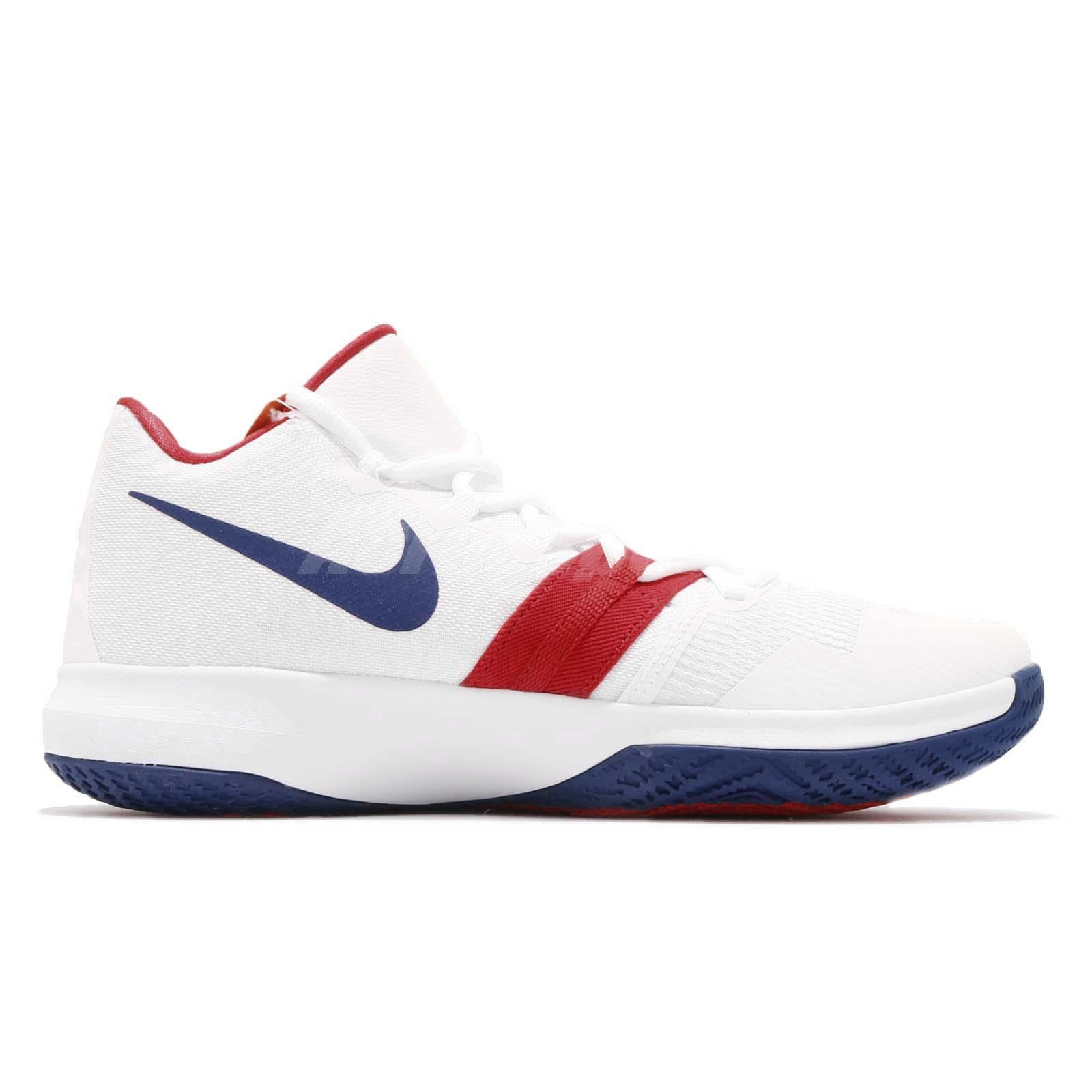 7ddf7eb4bad1 Nike Kyrie Flytrap EP Irving White Blue Red Men Basketball Shoes ...