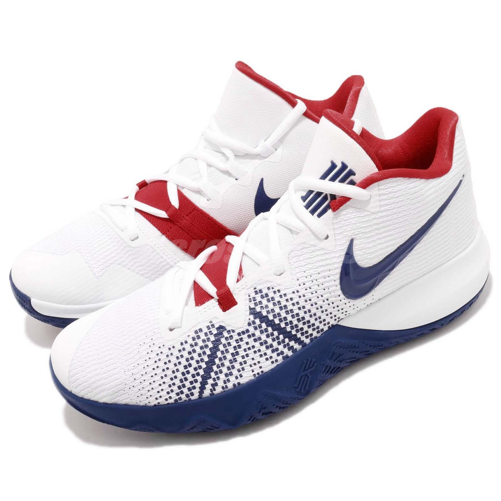 Nike Kyrie Flytrap EP Irving White Blue Red Men Basketball ...