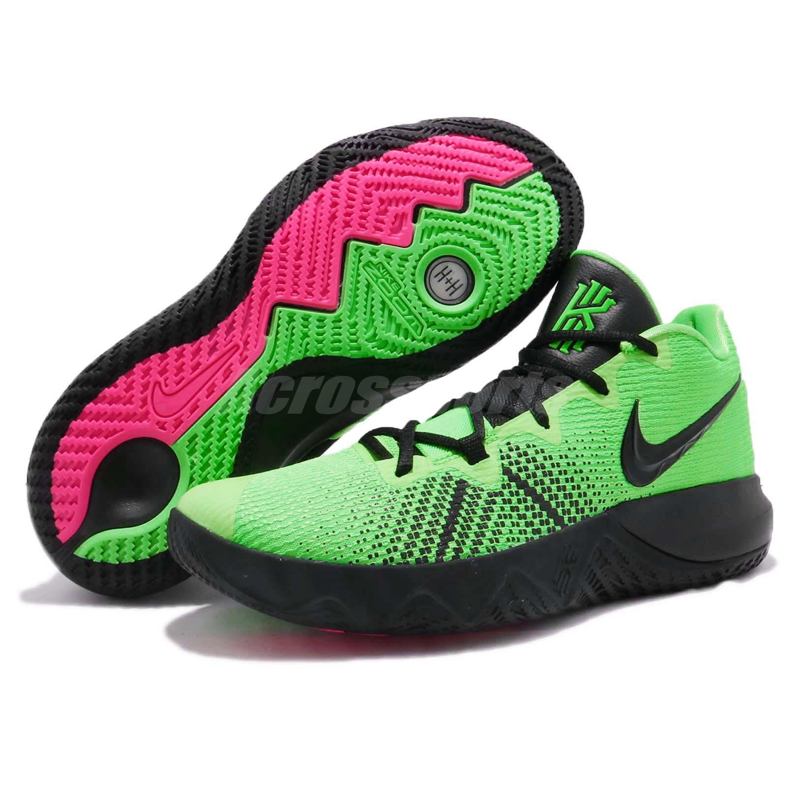 4d07eba76fde Nike Kyrie Flytrap EP Irving Rage Green Black Men Basketball Shoes ...