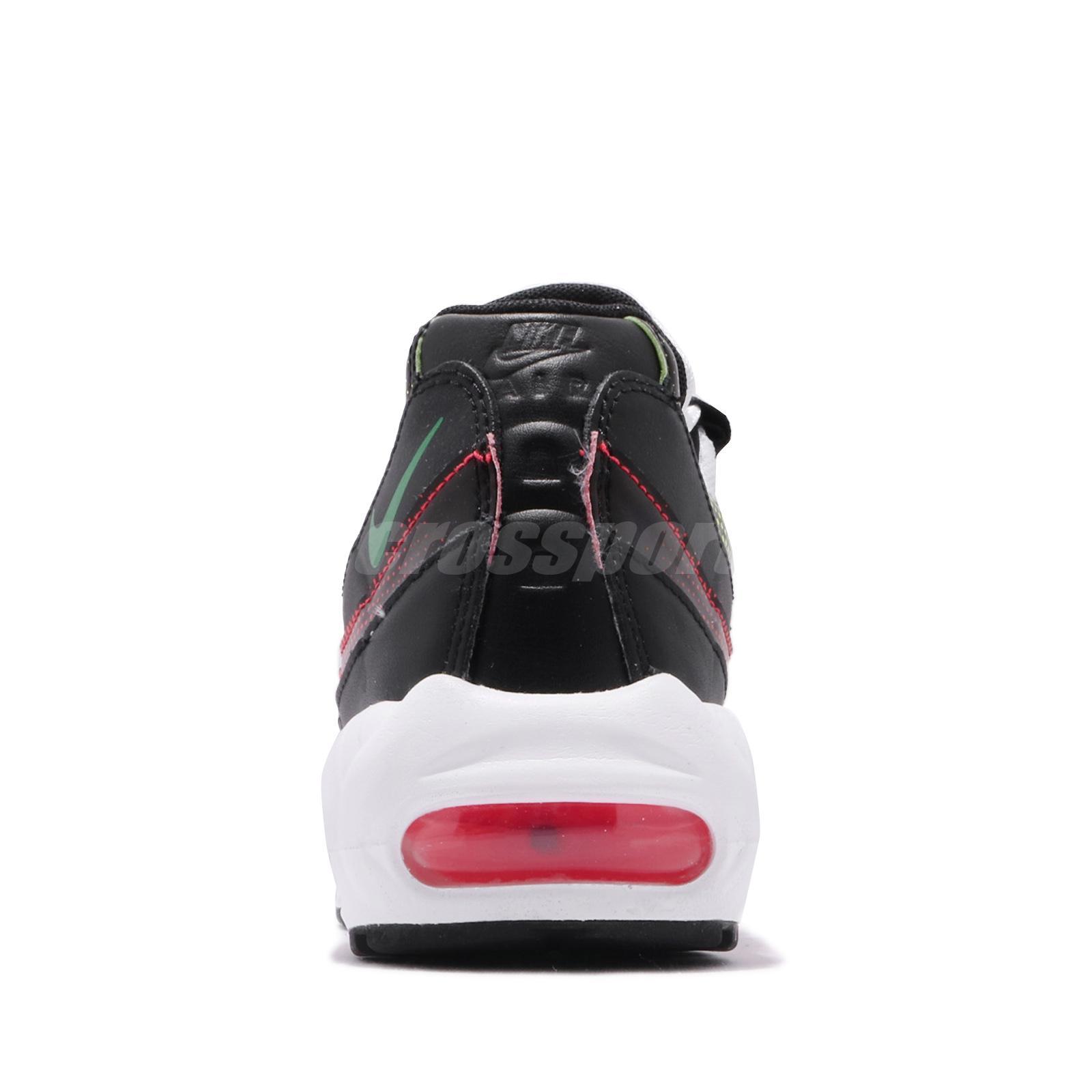2019 Nike Air Max 95 BlackWhite Volt Solar Red AJ2018 004