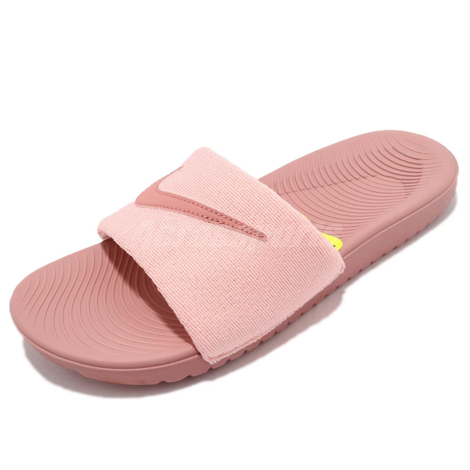 d24f94c1cd0d Nike Kawa Slide SE GS PS Pink Kid Youth Junior Sports Sandal Slippers  AJ2503-601