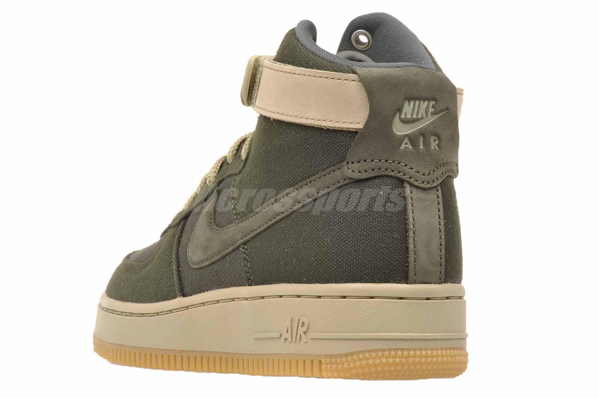 Details about Nike Wmns Air Force 1 HI Utility Womens Casual Shoes Sequoia  Green AJ2775-300 b87ac0375