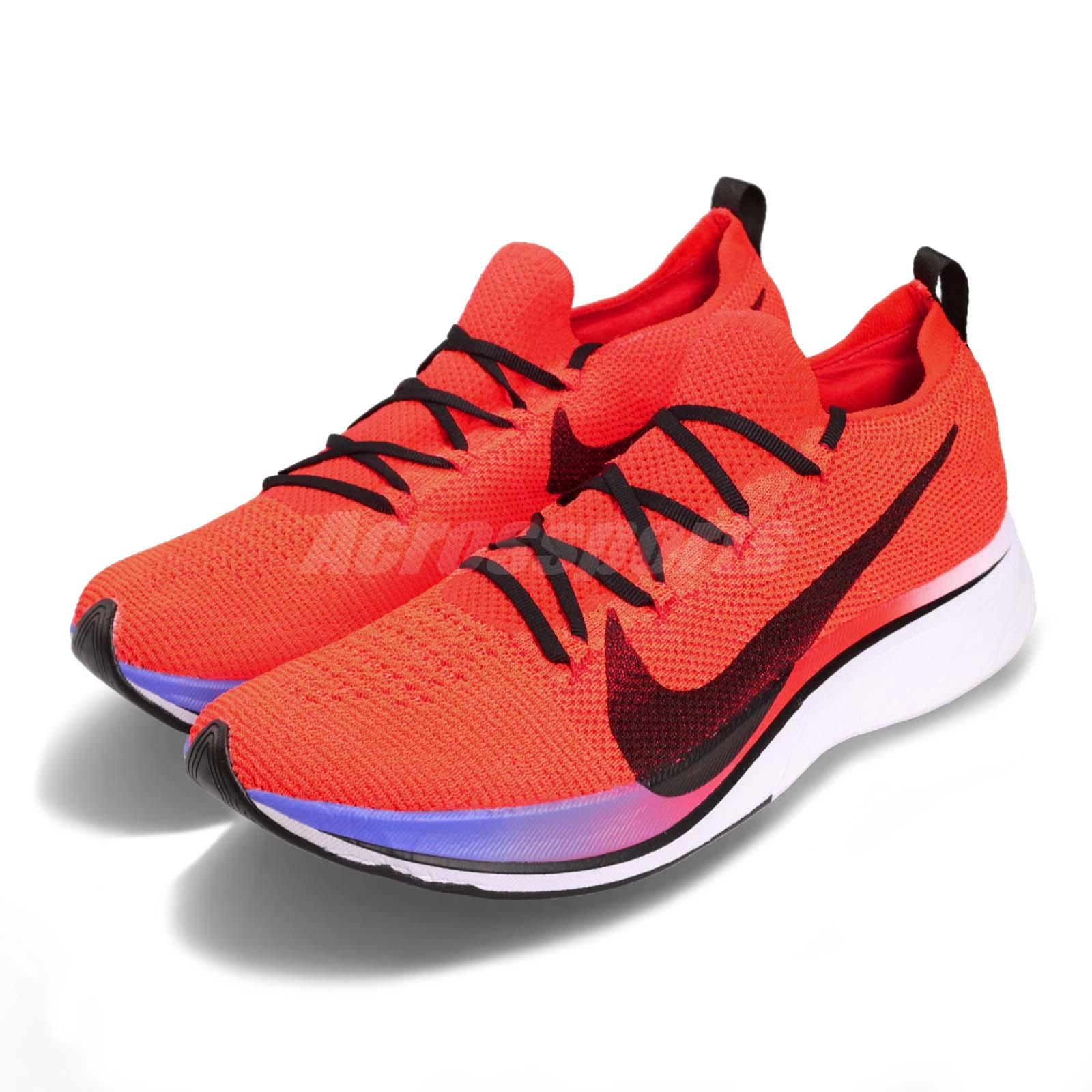 459e7bc1f8754 Details about Nike Vaporfly 4% Flyknit Bright Crimson Black Men Running  Shoes AJ3857-601