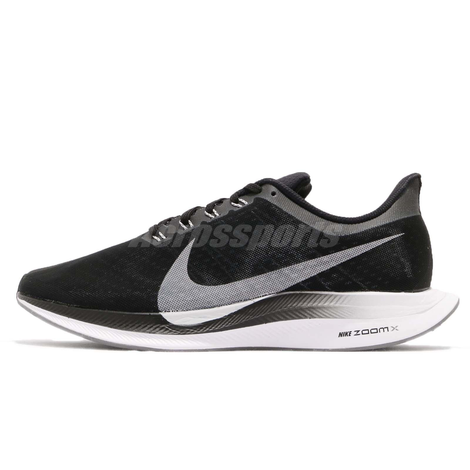 Details about Nike Zoom Pegasus 35 Turbo Black Vast Grey ZoomX Men Running Shoes AJ4114 001