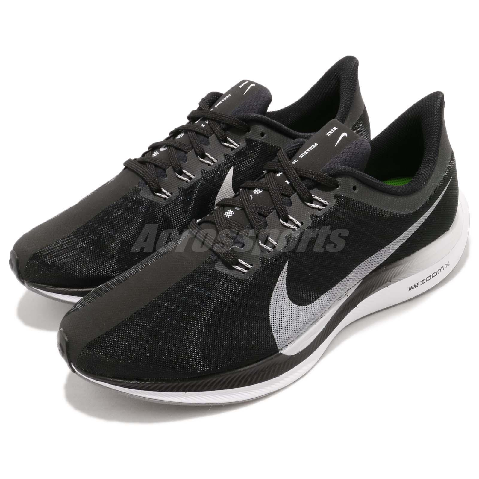 7f859702bb449 Details about Nike Zoom Pegasus 35 Turbo Black Vast Grey ZoomX Men Running  Shoes AJ4114-001