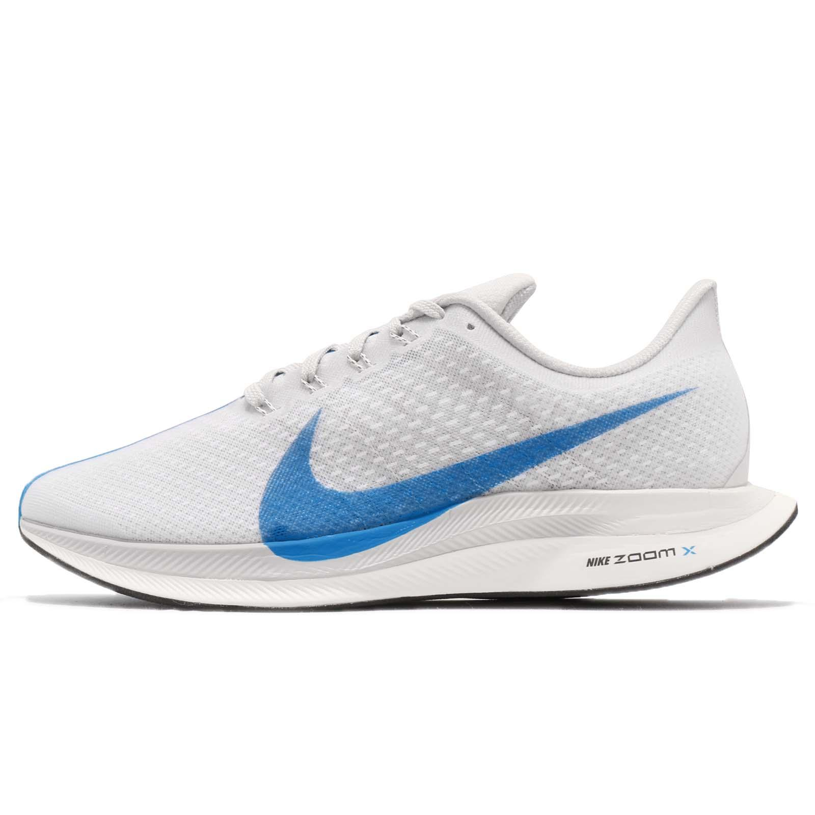 5c0a1531d77 Nike Zoom Pegasus 35 Turbo White Blue Hero Grey Mens Running Shoes  AJ4114-140