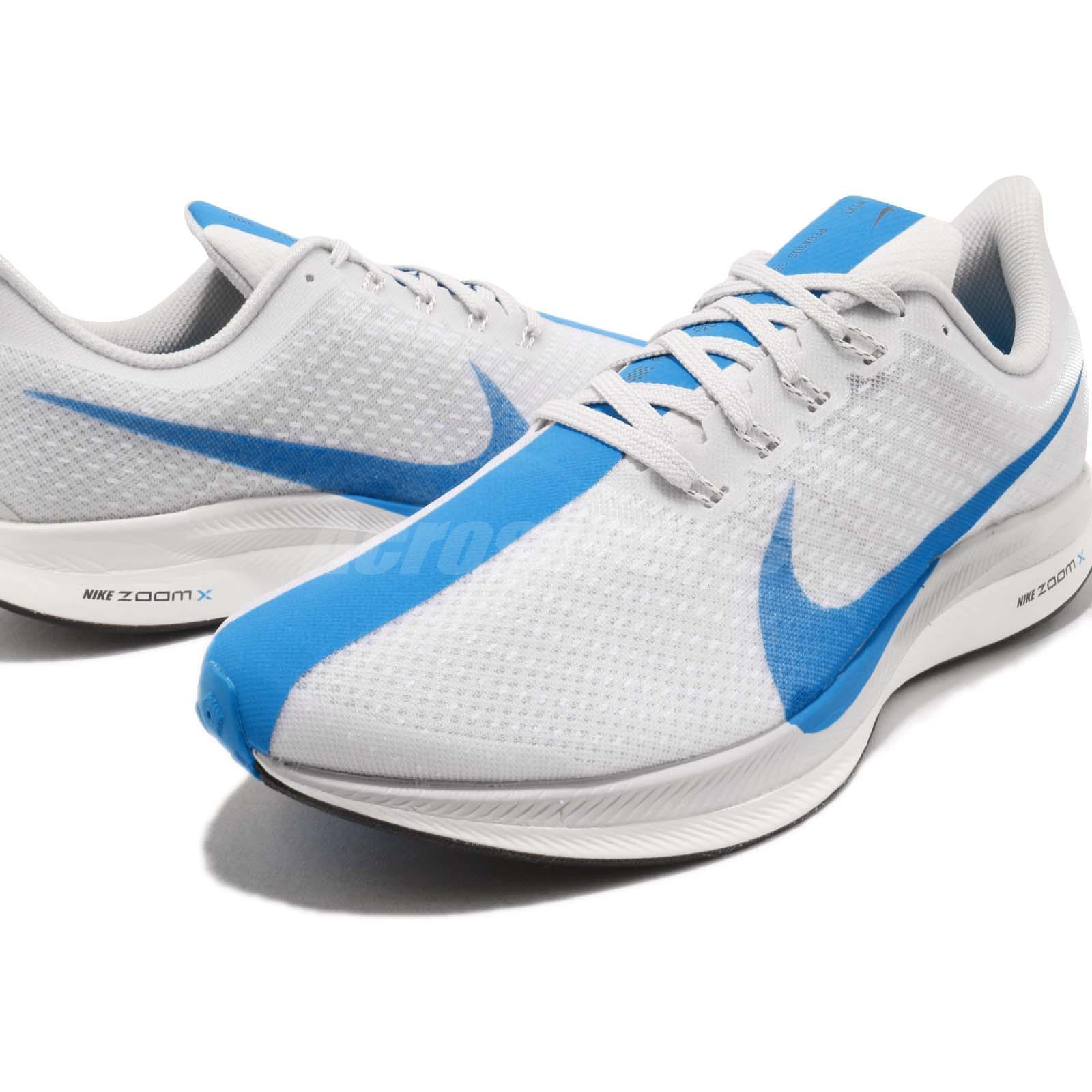 3d94ac65f5048 Nike Zoom Pegasus 35 Turbo White Blue Hero Grey Mens Running Shoes ...