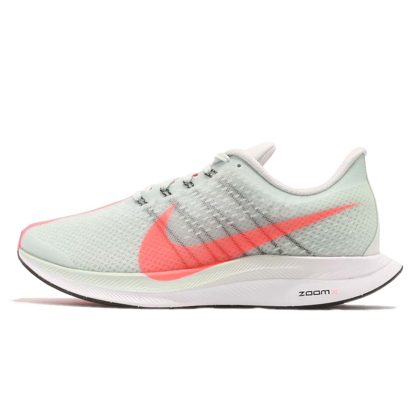 85ec8c920d2f7 Nike Wmns Zoom Pegasus 35 Turbo Barely Grey Hot Punch Running Shoes AJ4115 -060