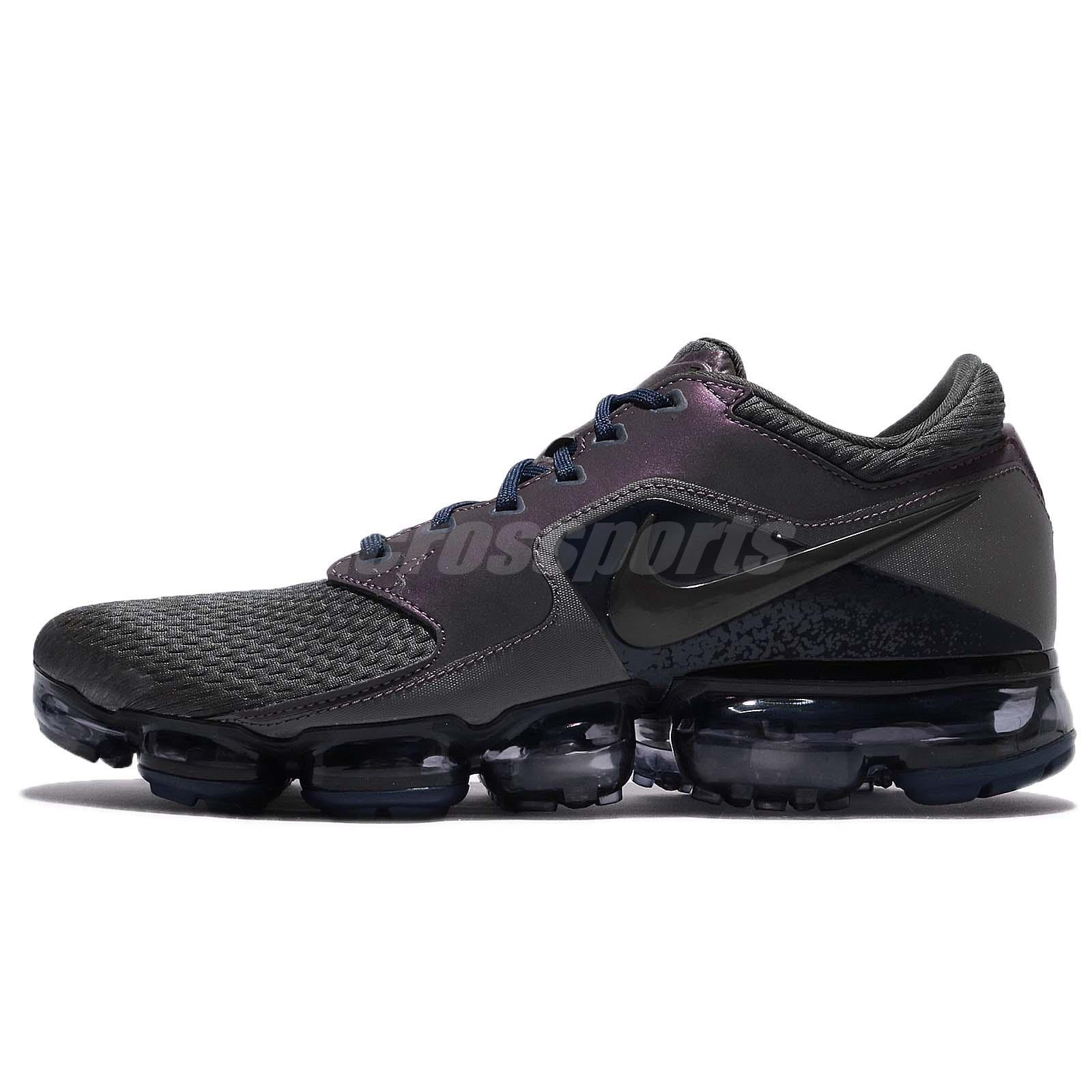 best service f2191 11dc8 Nike Air Vapormax R Midnight Fog Blue Men Running Shoes Sneakers AJ4469-002