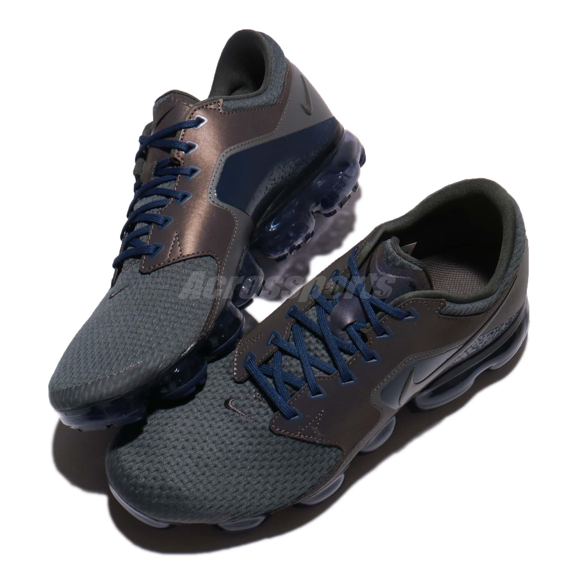 523eac9ec974 ... coupon code for nike air vapormax r midnight fog blue men running shoes  sneakers 4f81f 84a8f