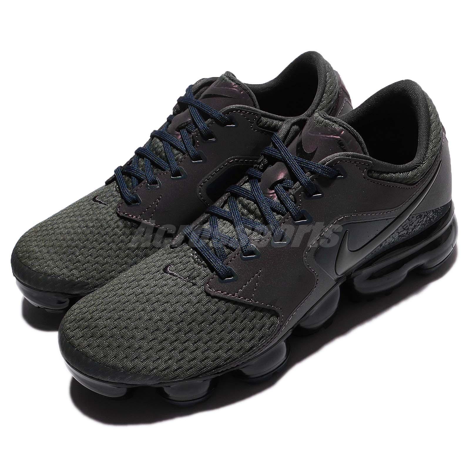 e4d5b1a801 Details about Wmns Nike Air Vapormax Reflective Midnight Fog Women Running  Shoes AJ4470-002