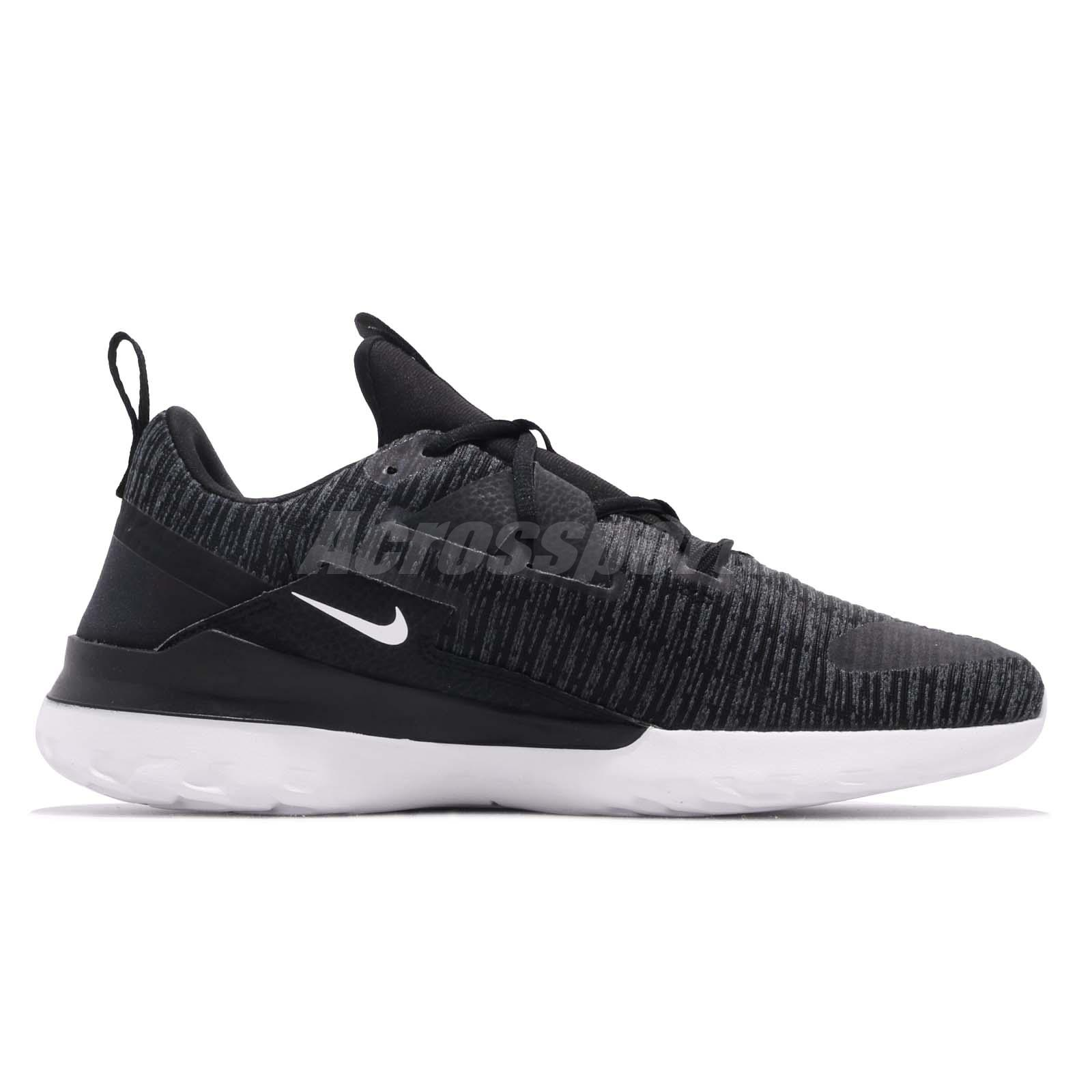 Forzado Compasión Desbordamiento  Nike Renew Arena Black White Men Running Casual Shoes Sneakers AJ5903-001 |  eBay