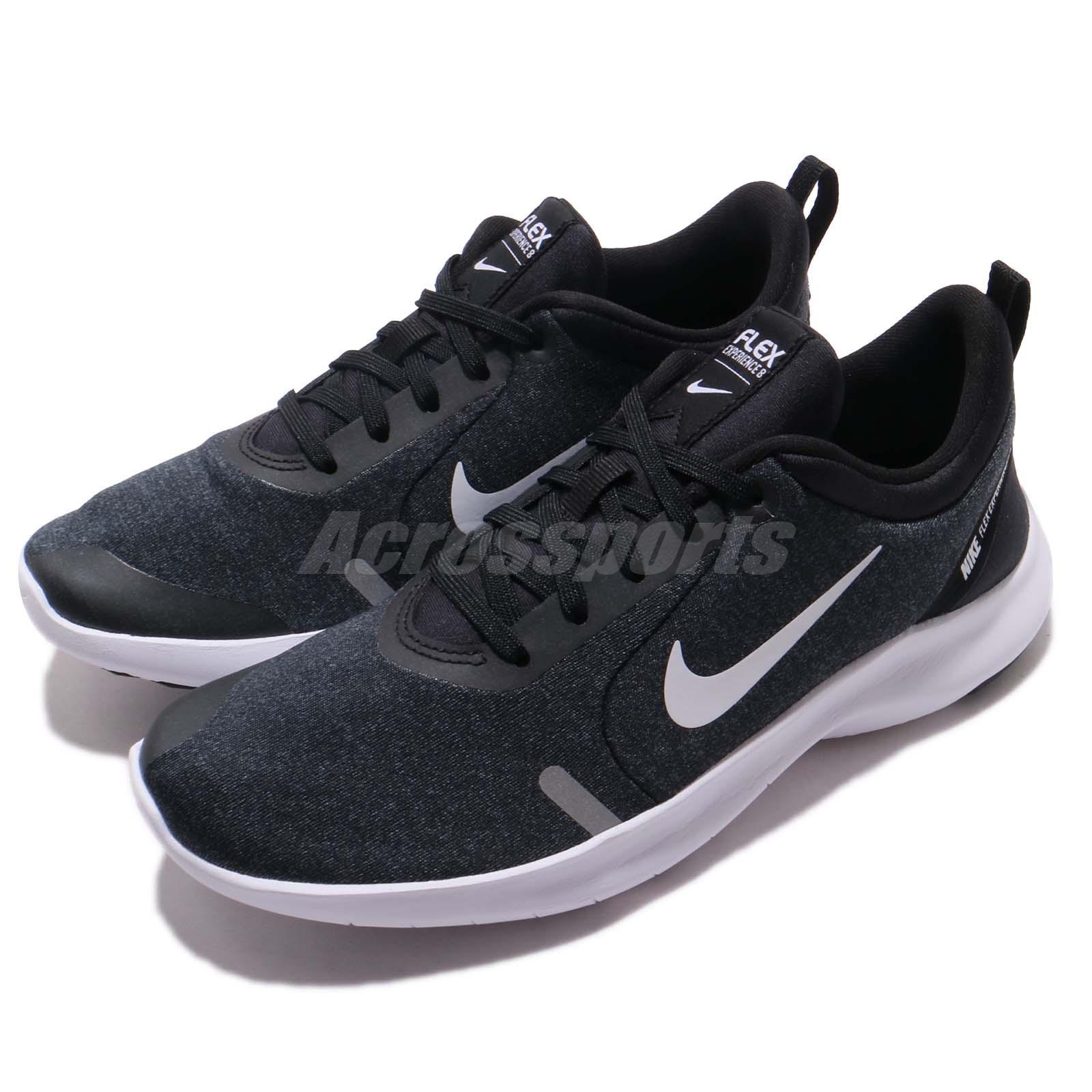 5d3c15db32e Details about Nike Wmns Flex Experience RN 8 Run Black White Women Running  Shoes AJ5908-013