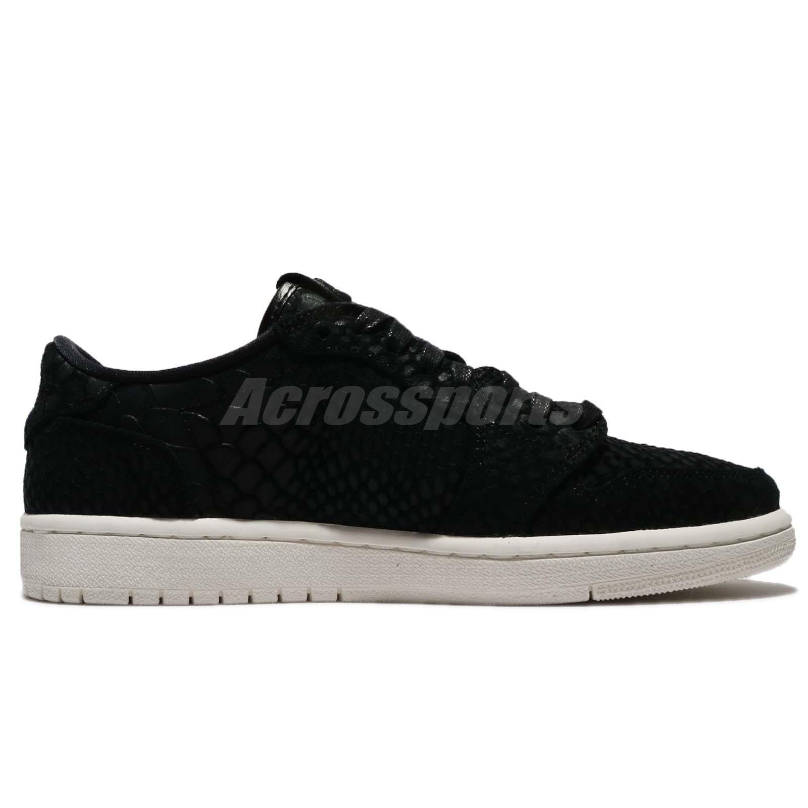 c752f498a6d896 Nike Wmns Air Jordan 1 Retro Low NS NRG No Swoosh Energy Black ...