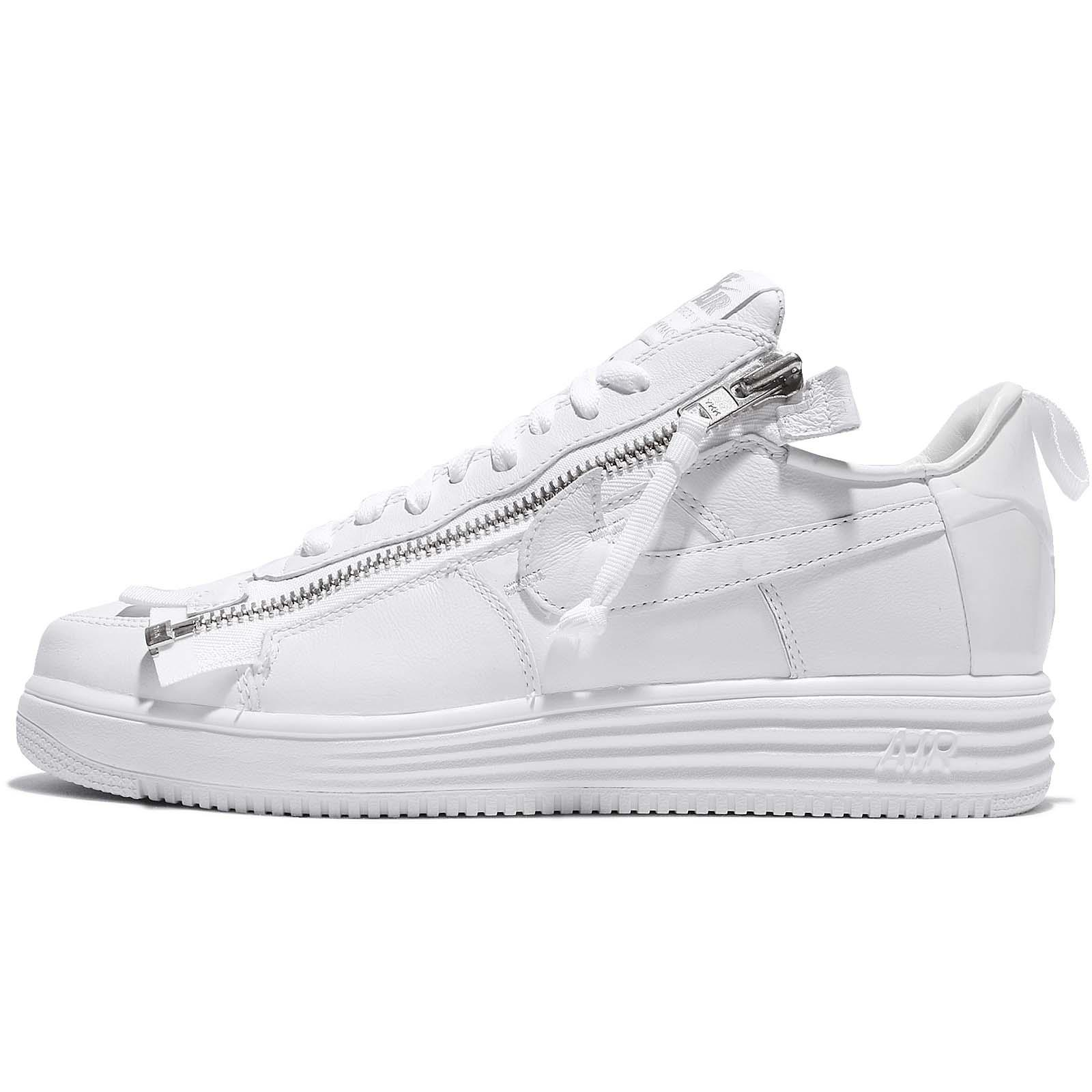 best website 5d621 ae78d ... Nike ACRONYM X Lunar Force 1 AF100 Triple WHite ComplexCon Rare AJ6247- 100 ...