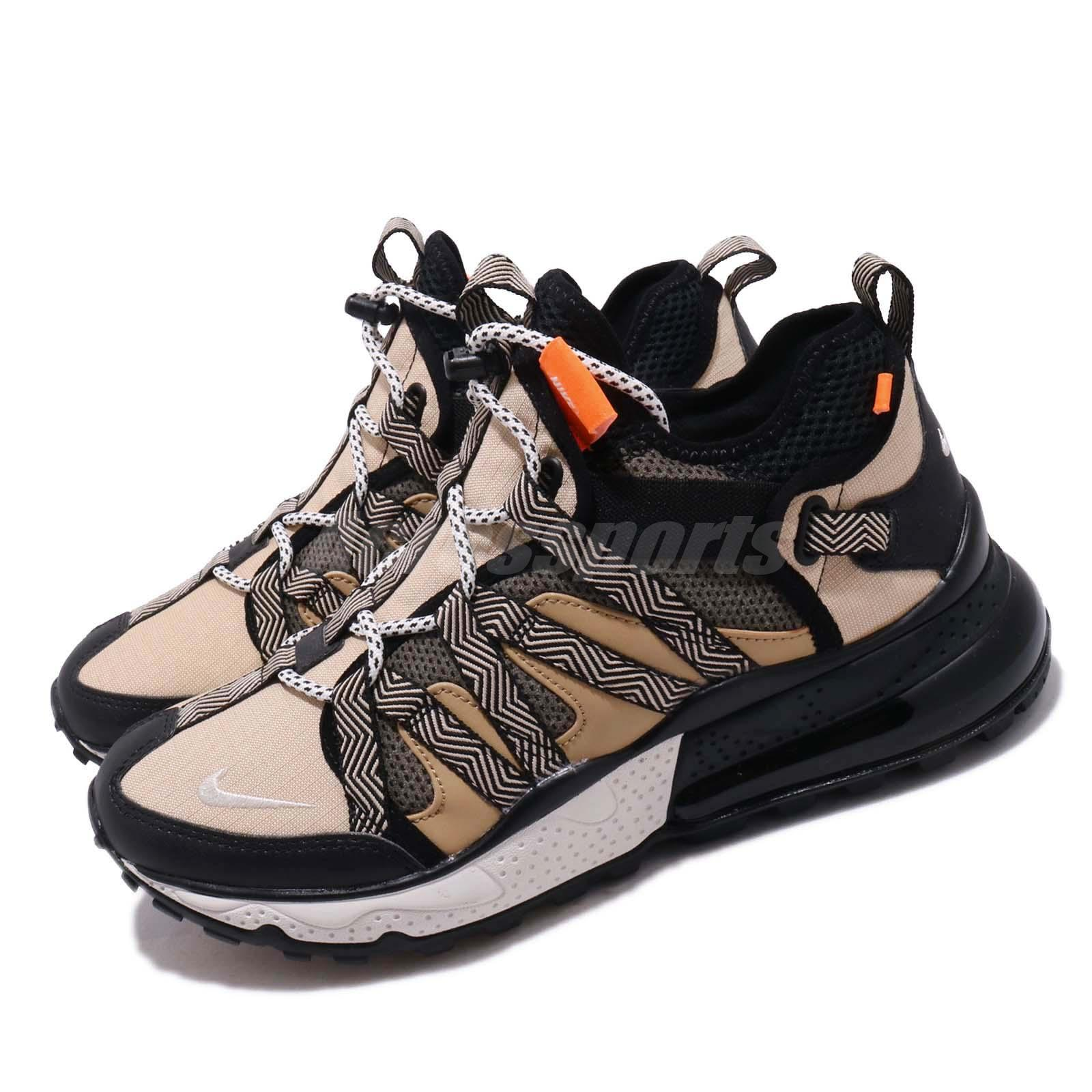 best website 6914a 14bbc Details about Nike Air Max 270 BOWFIN Desert Cone Black Men Outdoors Trail  Shoes AJ7200-001