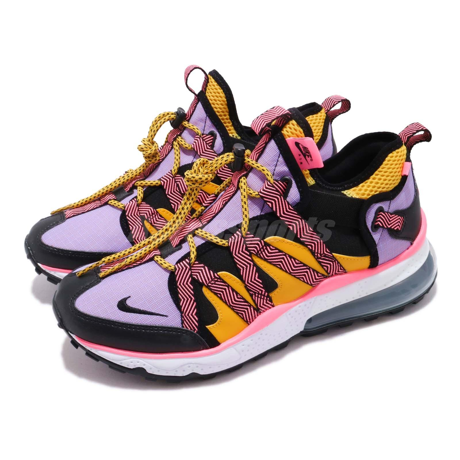 timeless design 2463d 0a6c9 Details about Nike Air Max 270 Bowfin Black Atomic Violet Men Outdoors  Trail Shoes AJ7200-004