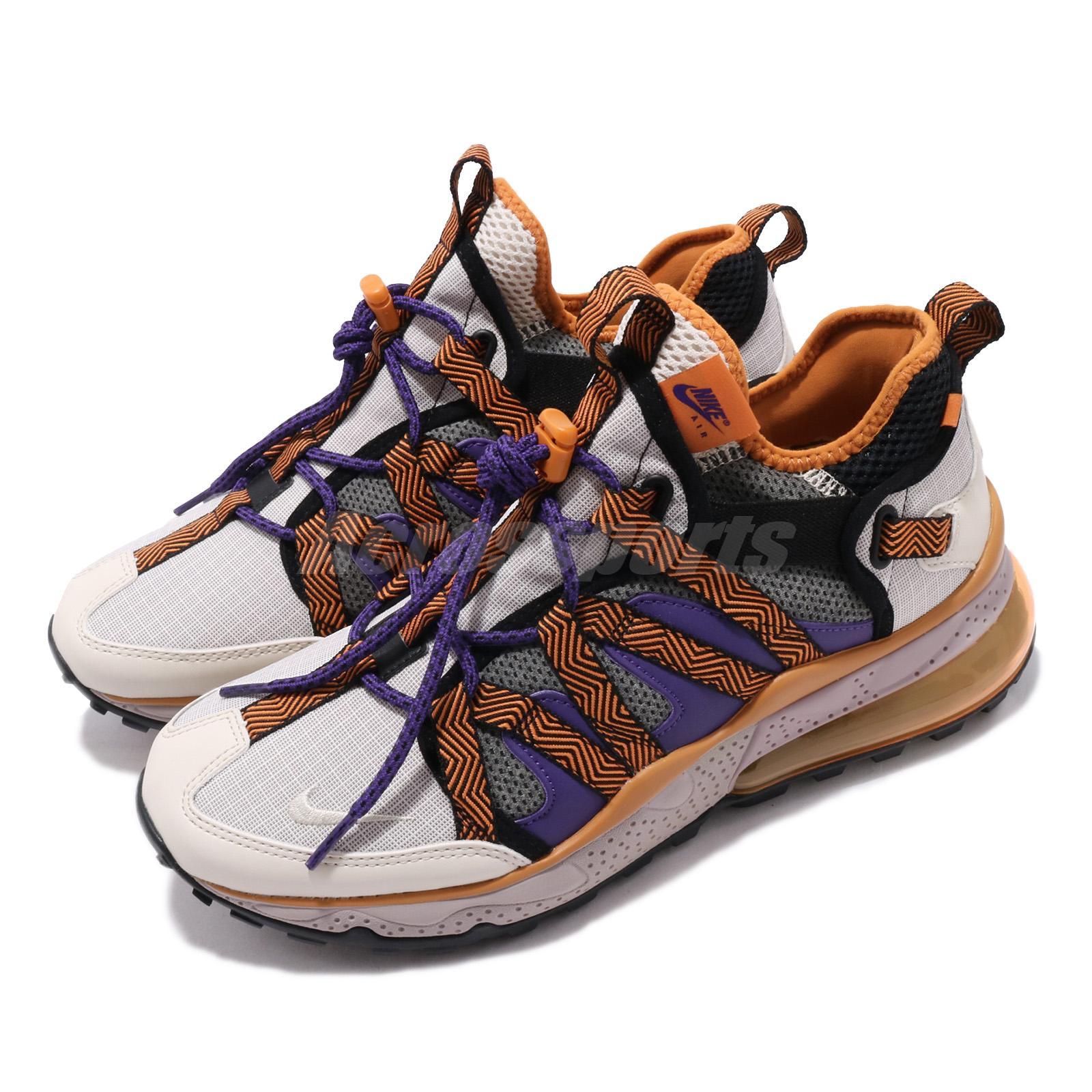 wholesale dealer 74d93 6a837 Details about Nike Air Max 270 Bowfin Mowabb Beige Orange Purple Men  Outdoors Shoes AJ7200-201