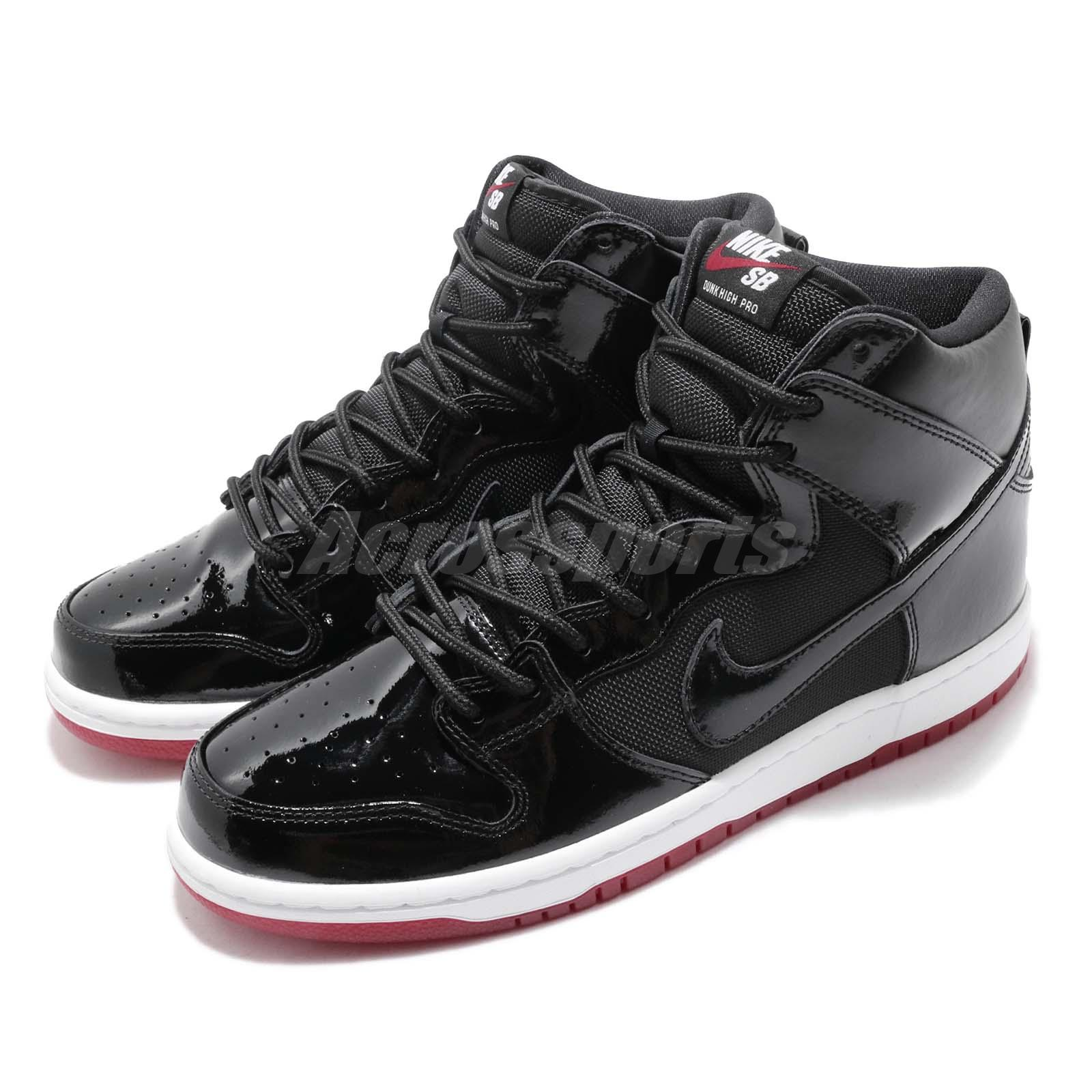 664582e359d9a Details about Nike SB Zoom Dunk High TR QS Rivals Pack BRED Men  Skateboarding Shoes AJ7730-001