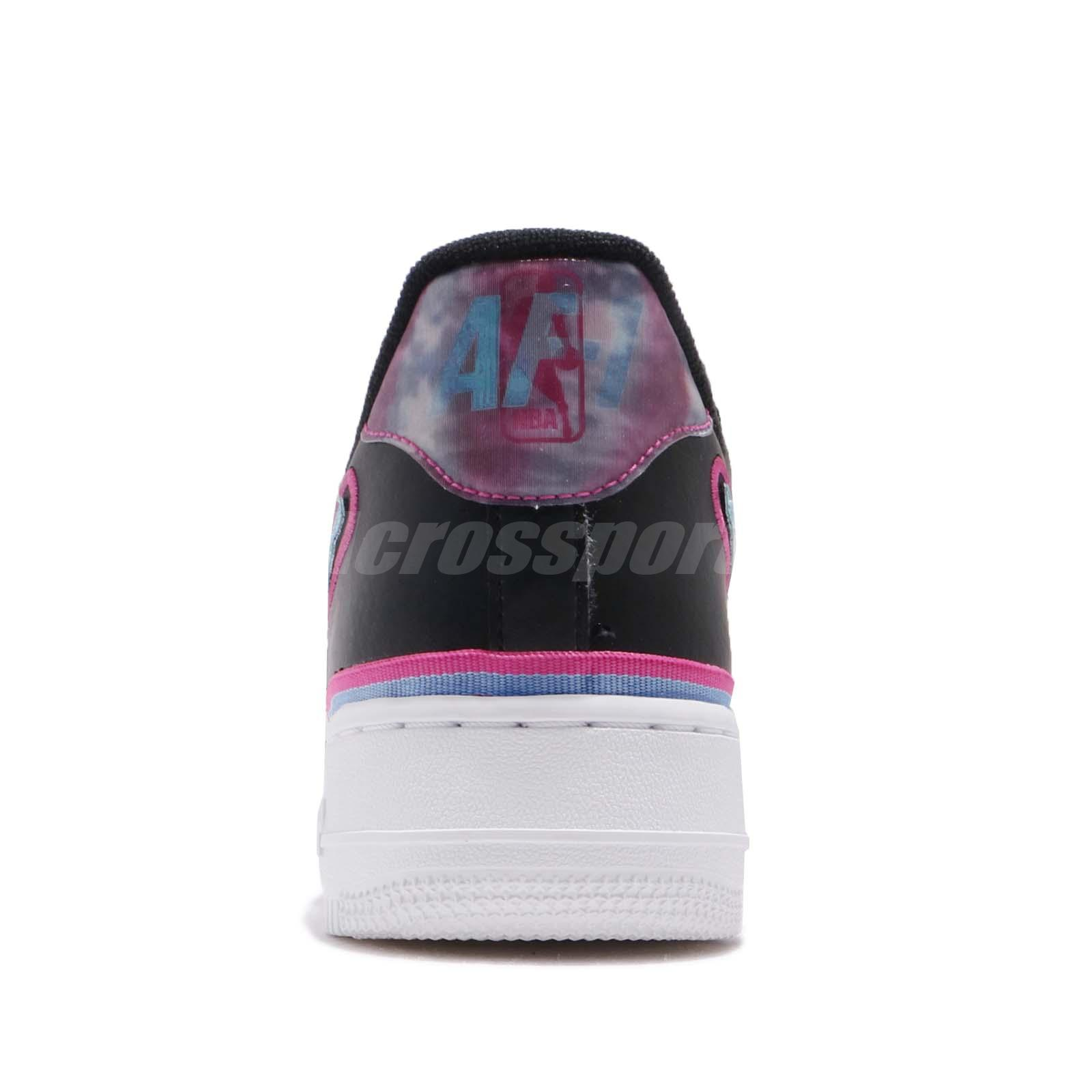 e32bbcd5caad Nike Air Force 1 07 LV8 Sport AF1 NBA Maimi South Beach Men Shoes ...