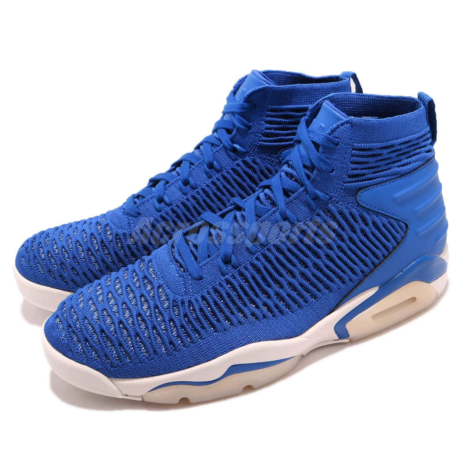 36523f573a2d1 Details about Nike Jordan Flyknit Elevation 23 Game Royal Blue Men  Basketball Shoes AJ8207-401
