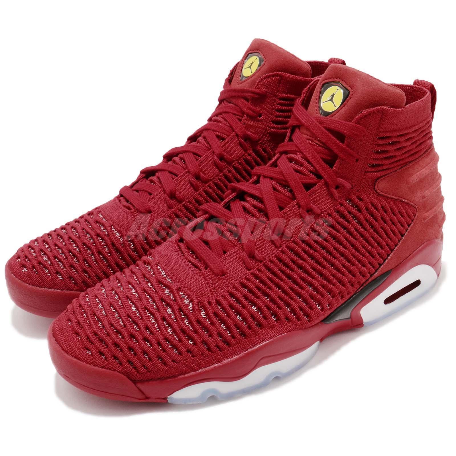 10e1332dcbc Details about Nike Jordan Flyknit Elevation 23 XXIII Last Shot Red Black  Men Shoes AJ8207-601