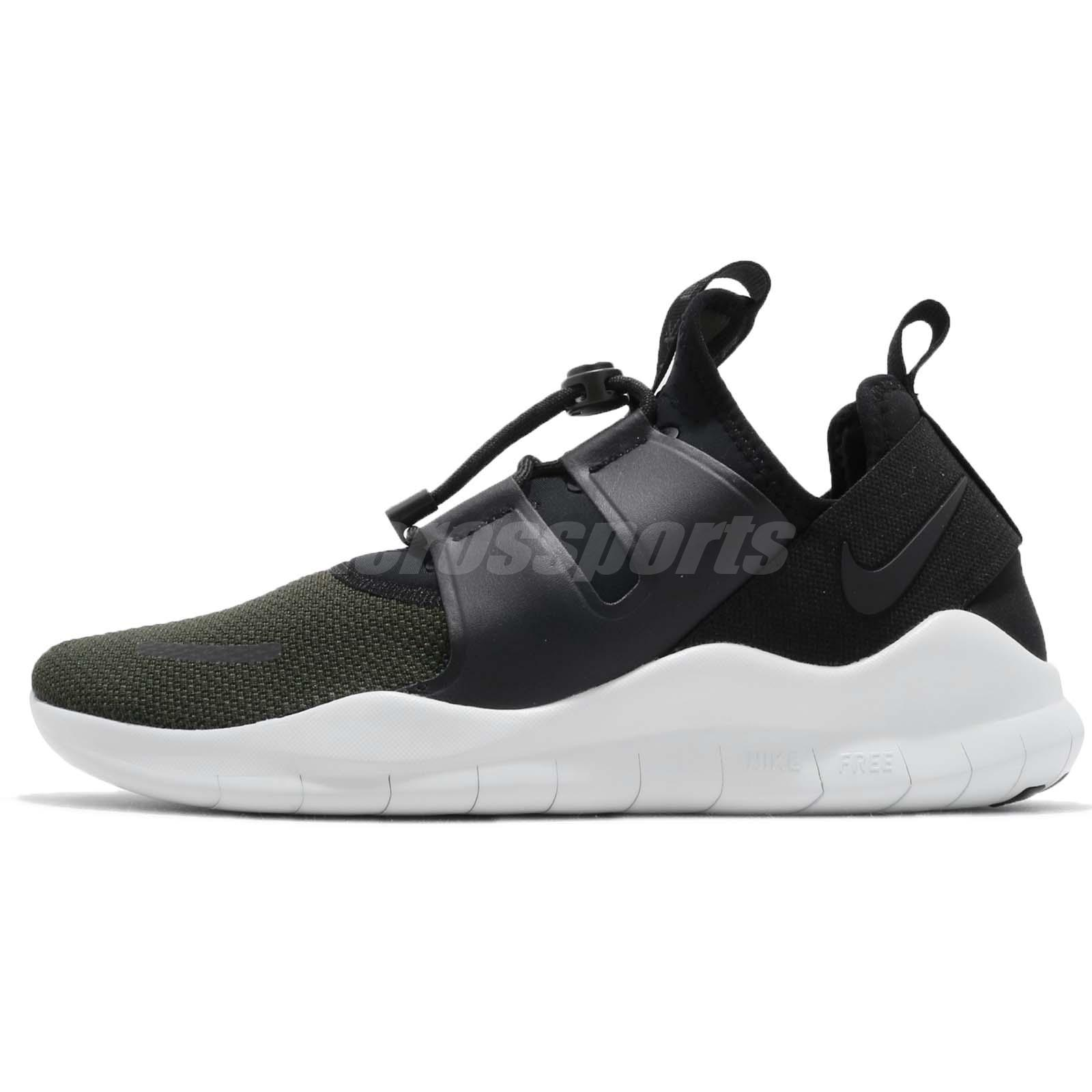 57041e0ff0d2 Nike Free RN CMTR 2018 PRM Run Black Sequoia Men Running Shoe Sneaker  AJ8308-003