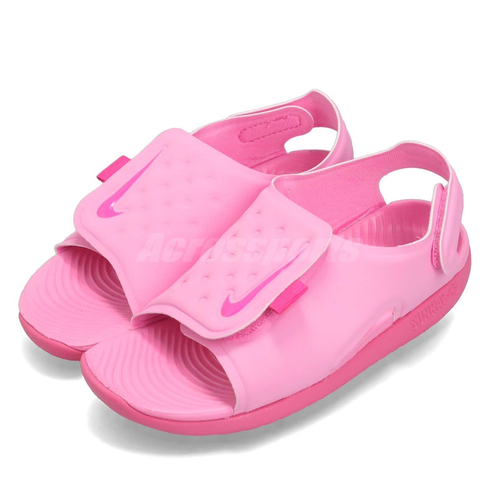 a0e132ca6 Details about Nike Sunray Adjust 5 TD Psychic Pink Toddler Infant Sports  Sandals AJ9077-601