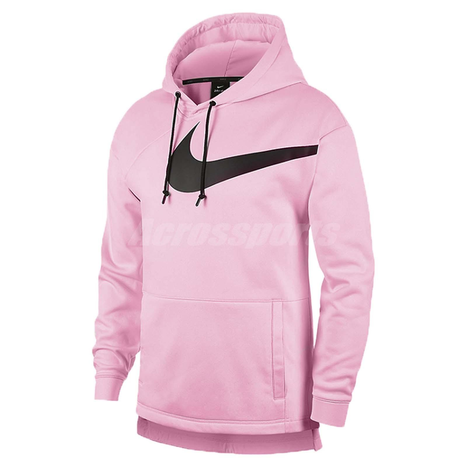 cba5ad60c Nike Men Therma Hoodie Pullover PX 3.0 Fleece Sports Training Pink  AJ9264-663