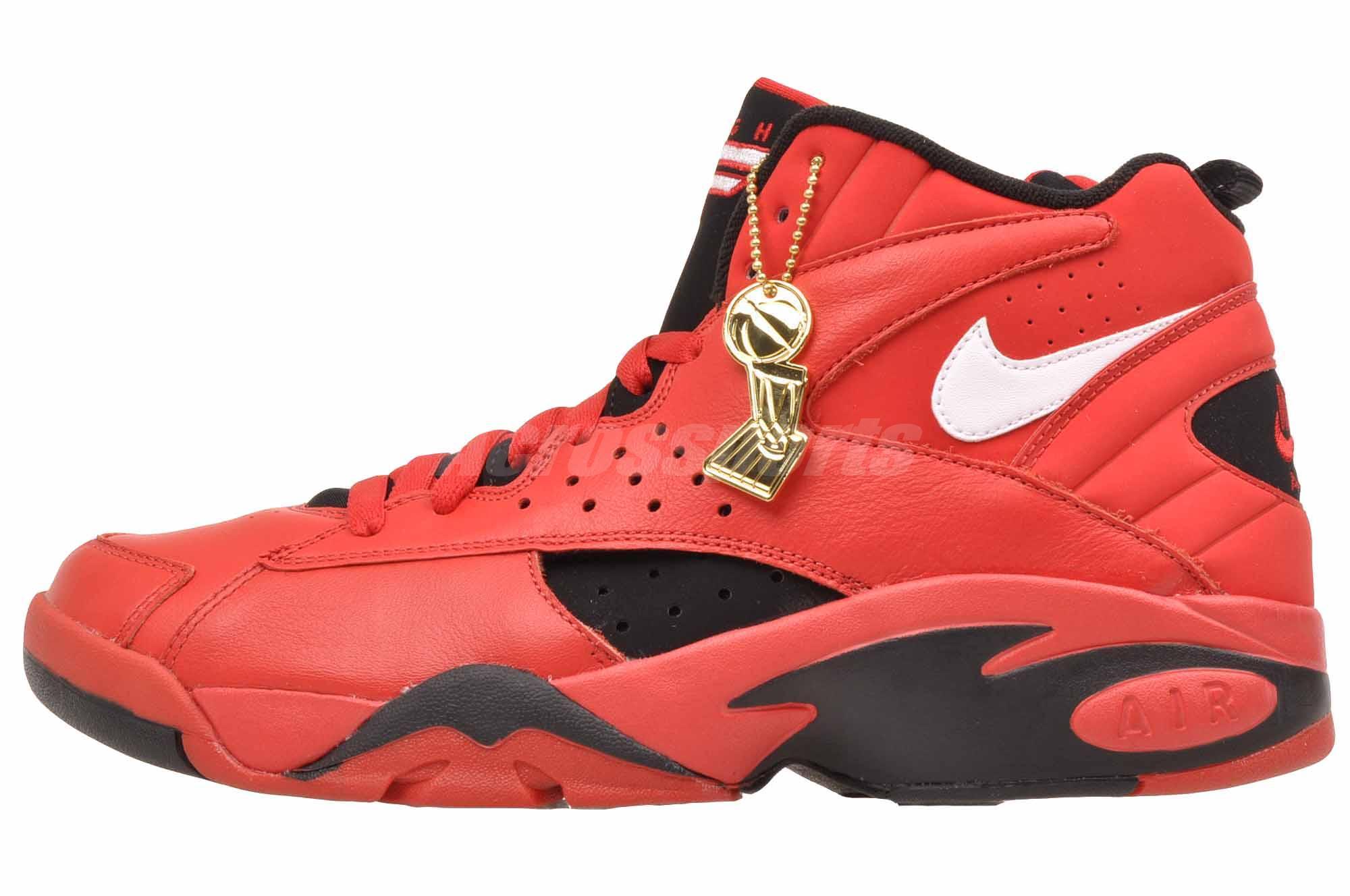 super popular 0579c c2b2b Details about Nike Air Maestro II 2 Trifecta QS Basketball Mens Shoes Red  AJ9281-600