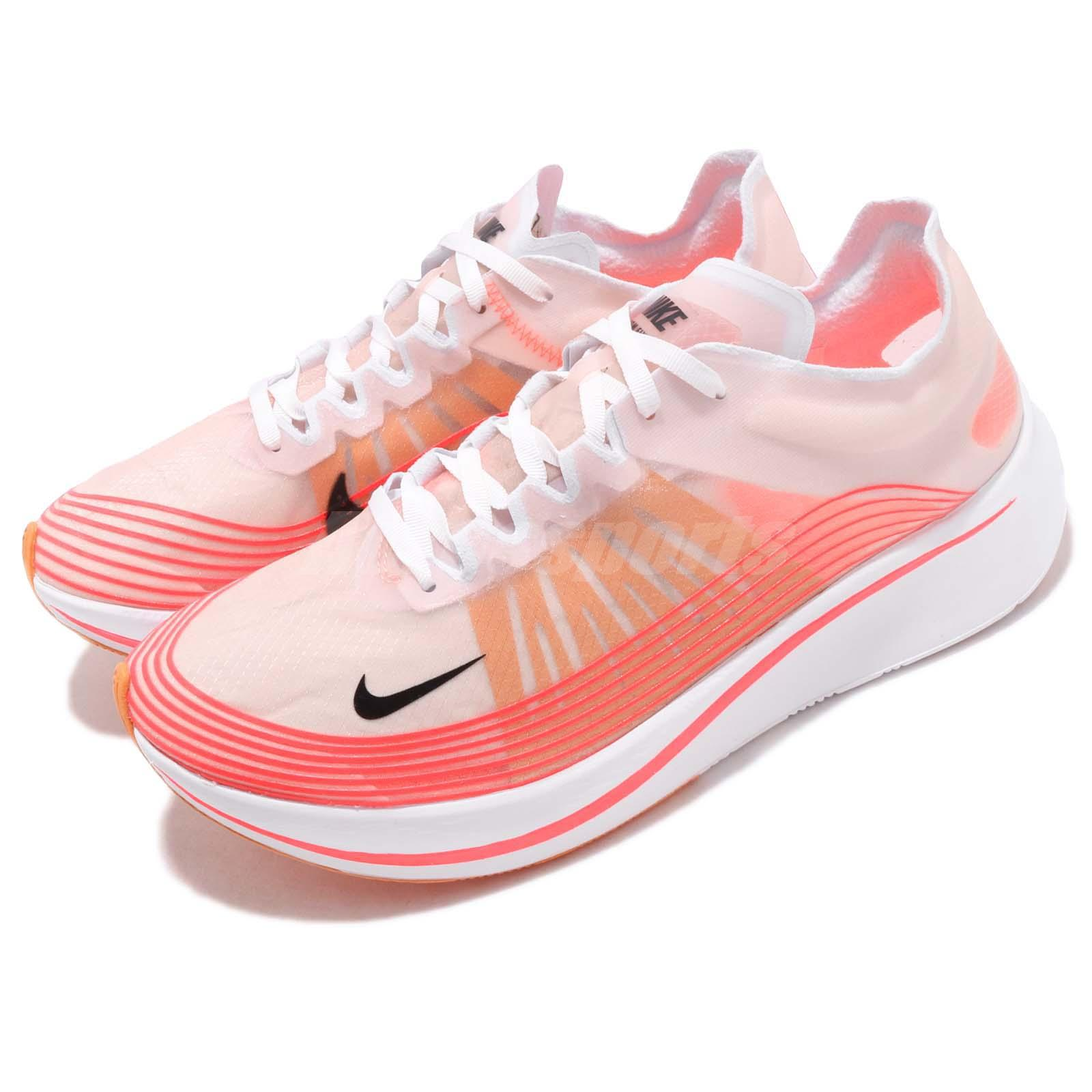 42f755e51e921 Details about Nike Zoom Fly SP Varsity Red Black White Men Running Shoes  Sneakers AJ9282-600