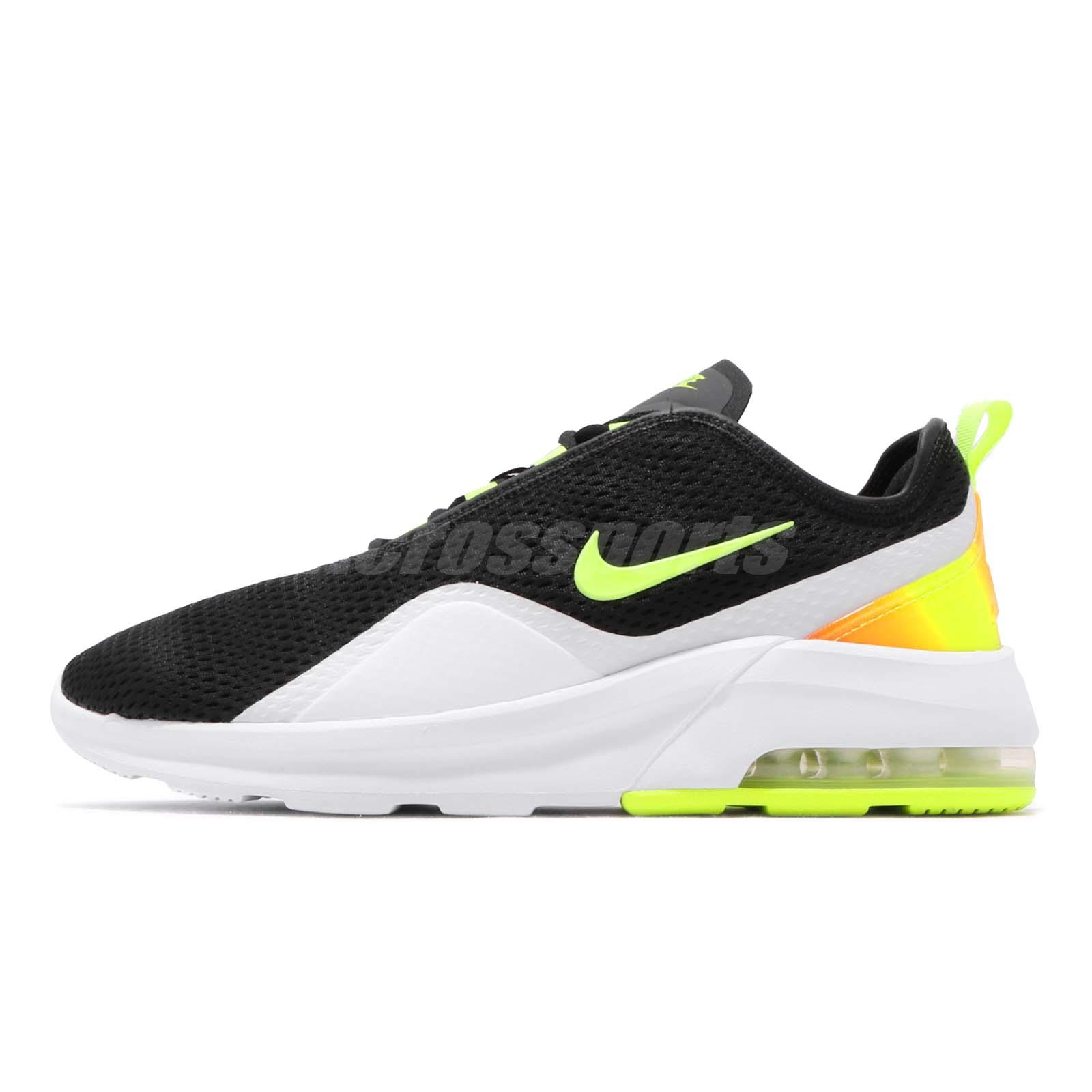 erección Hollywood tapa  Nike Air Max Motion 2 Black Volt White Men Running Shoes Sneakers  AO0266-007 | eBay