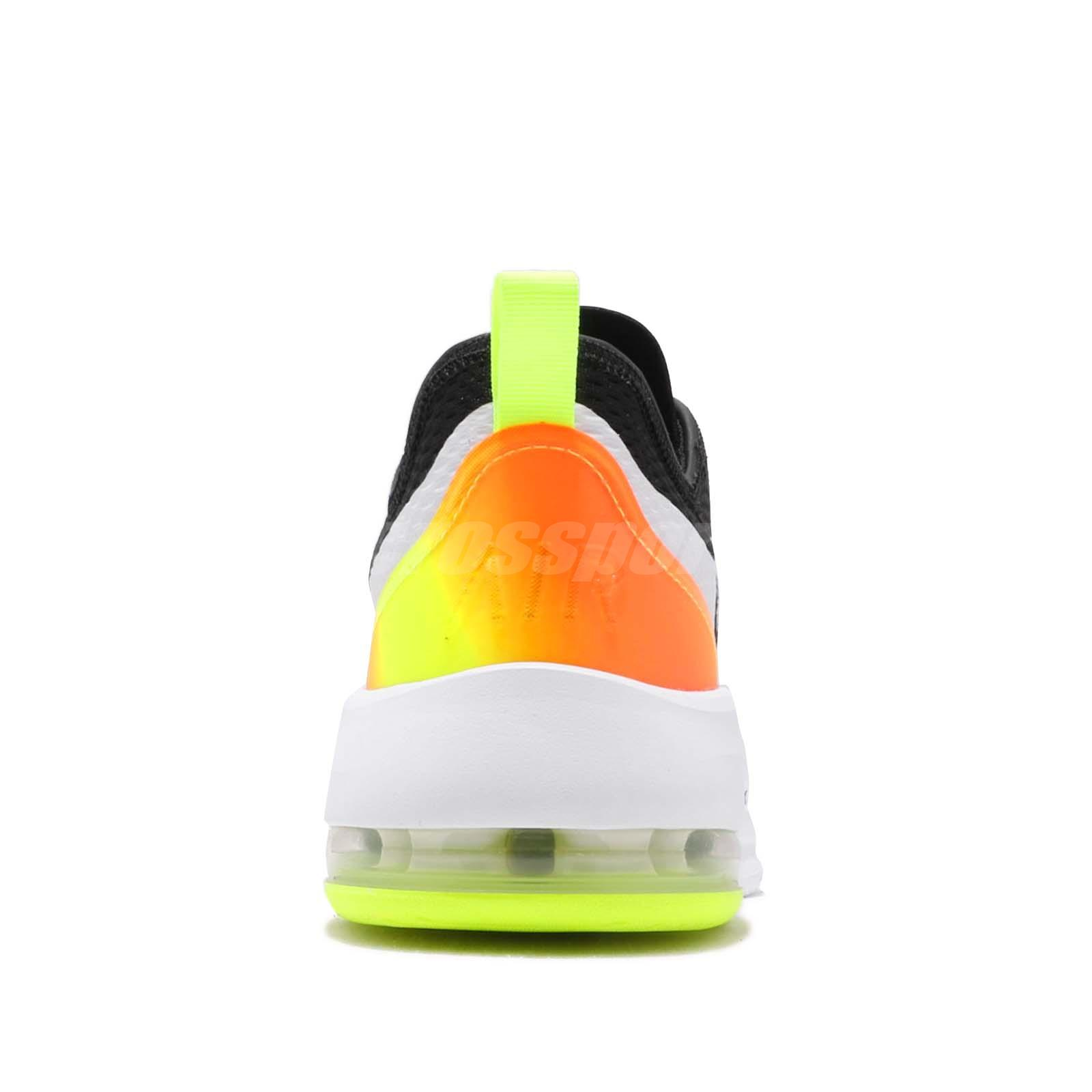 Details about Nike Air Max Motion 2 Black Volt White Men Running Shoes Sneakers AO0266 007