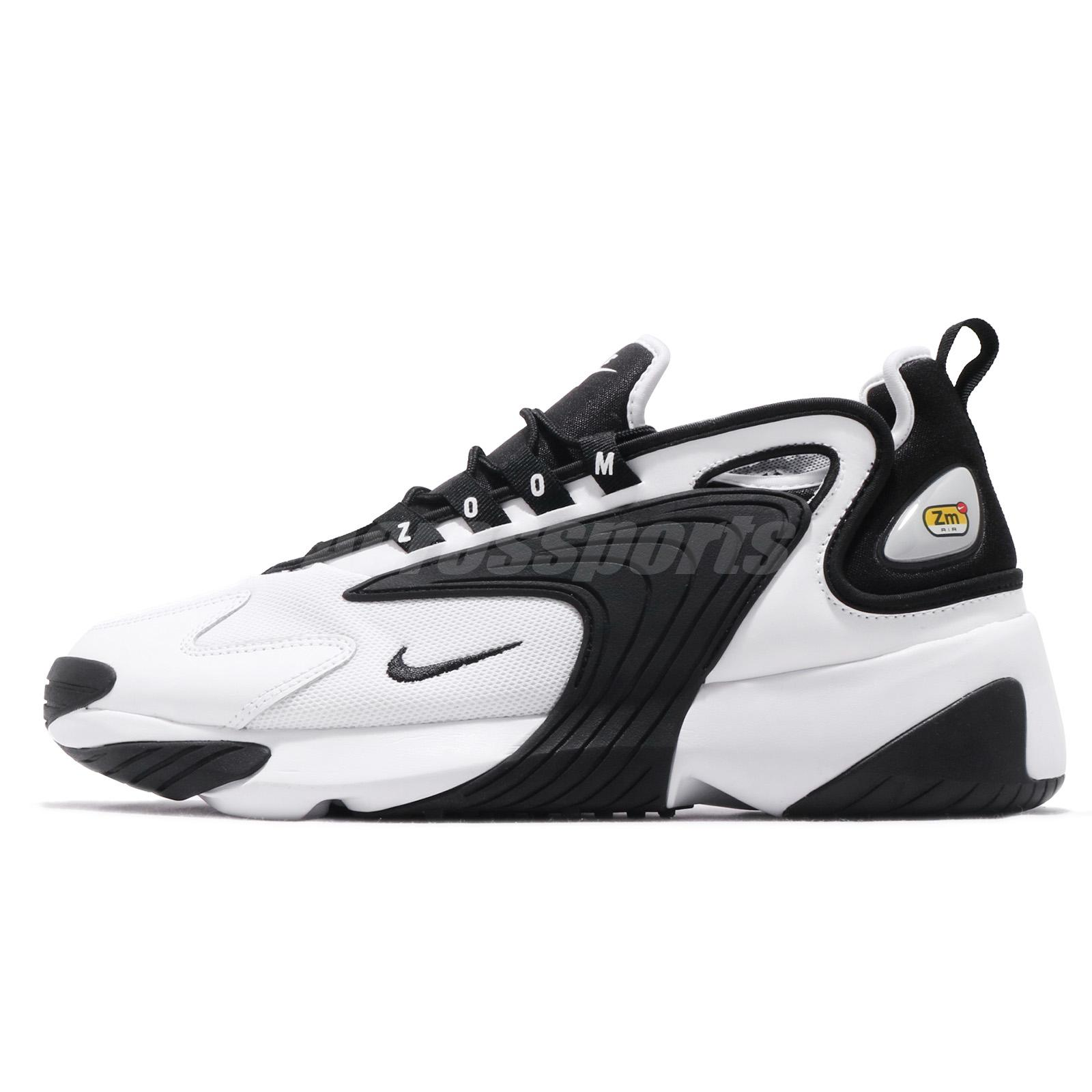 Details about Nike Zoom 2K ZM Air 2000 White Black Men Lifestyle Shoes Sneakers AO0269-101