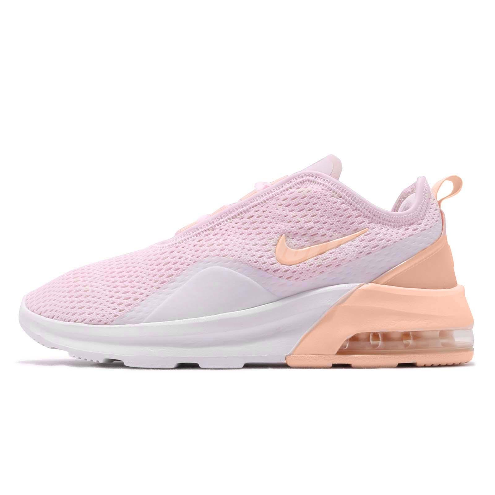 Details about Nike Wmns Air Max Motion 2 Pale Pink Washed Coral Women  Running Shoes AO0352-600