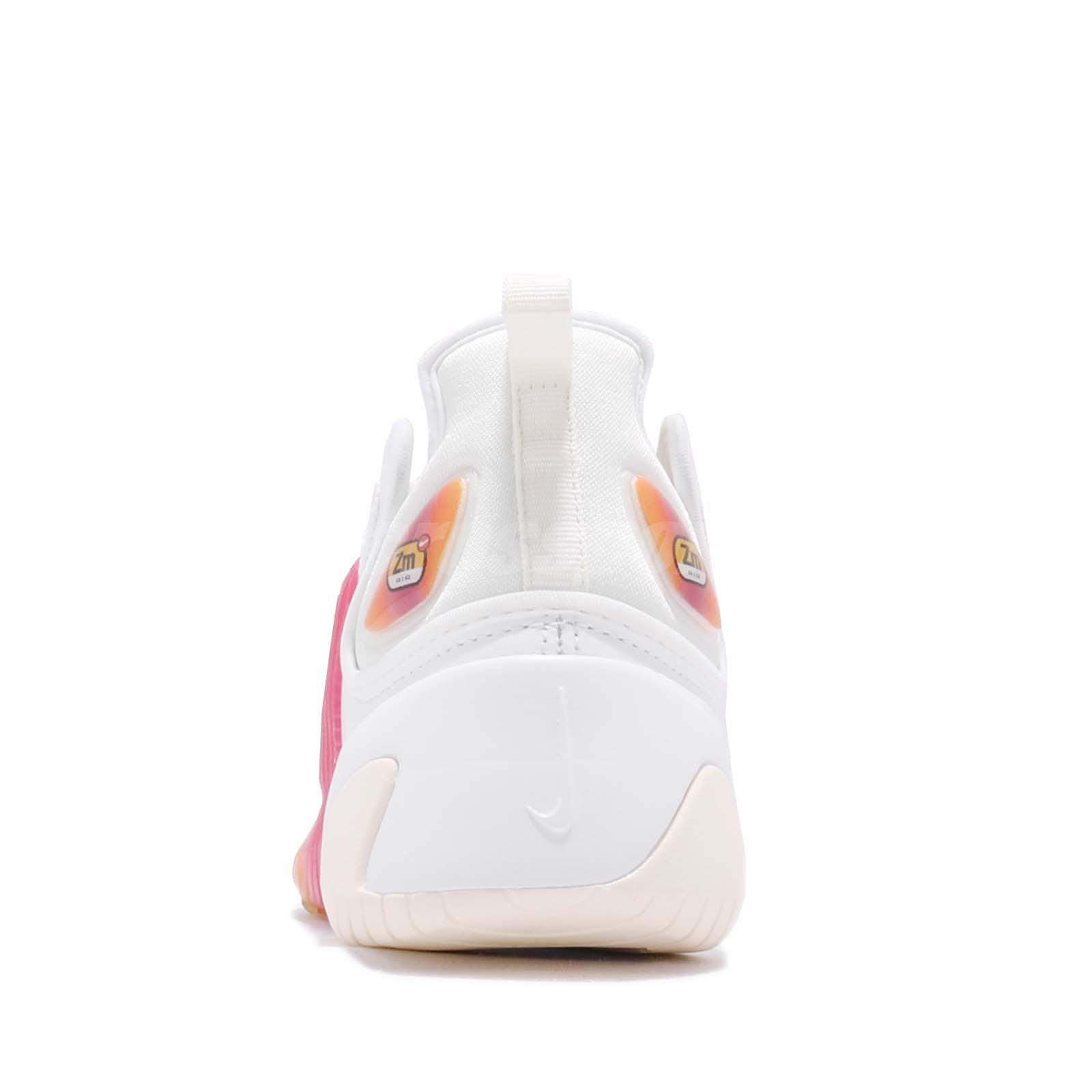 separation shoes d5137 c8ae4 Nike Wmns Zoom 2K White Rush Pink Sail Womens Running Shoes Sneakers ...