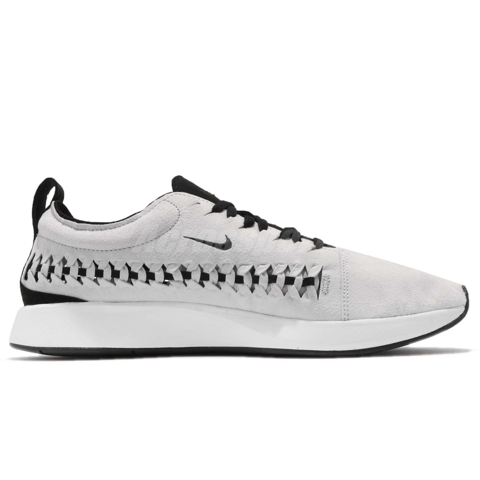 860c3cfcc7eb4 Details about Nike Dualtone Racer Woven Grey Black NSW Lifestyle Mens  Running Shoes AO0678-001