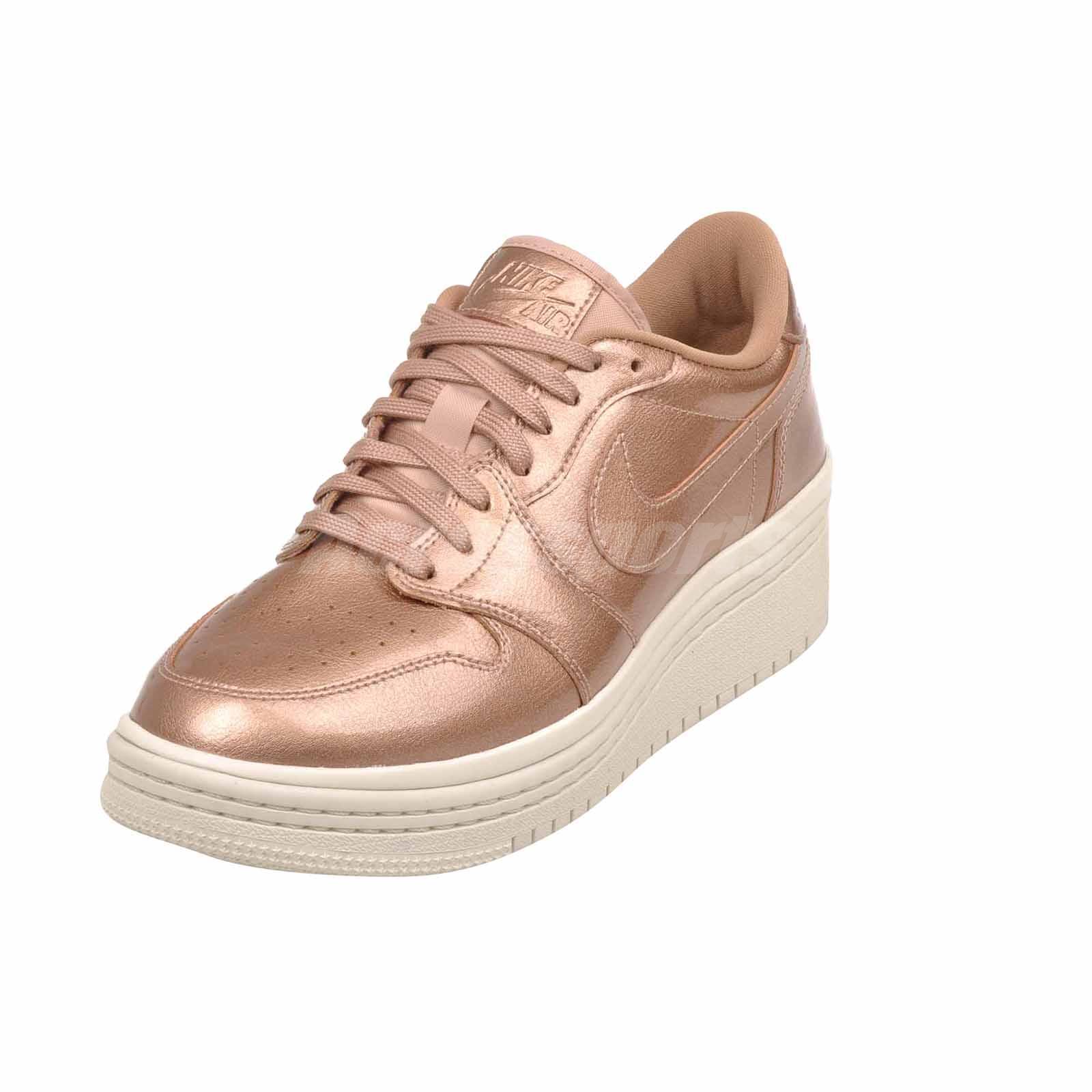 ca58dbb47107 Nike Wmns Air Jordan 1 Retro Low Lifted Casual Womens Shoes AO1334 ...