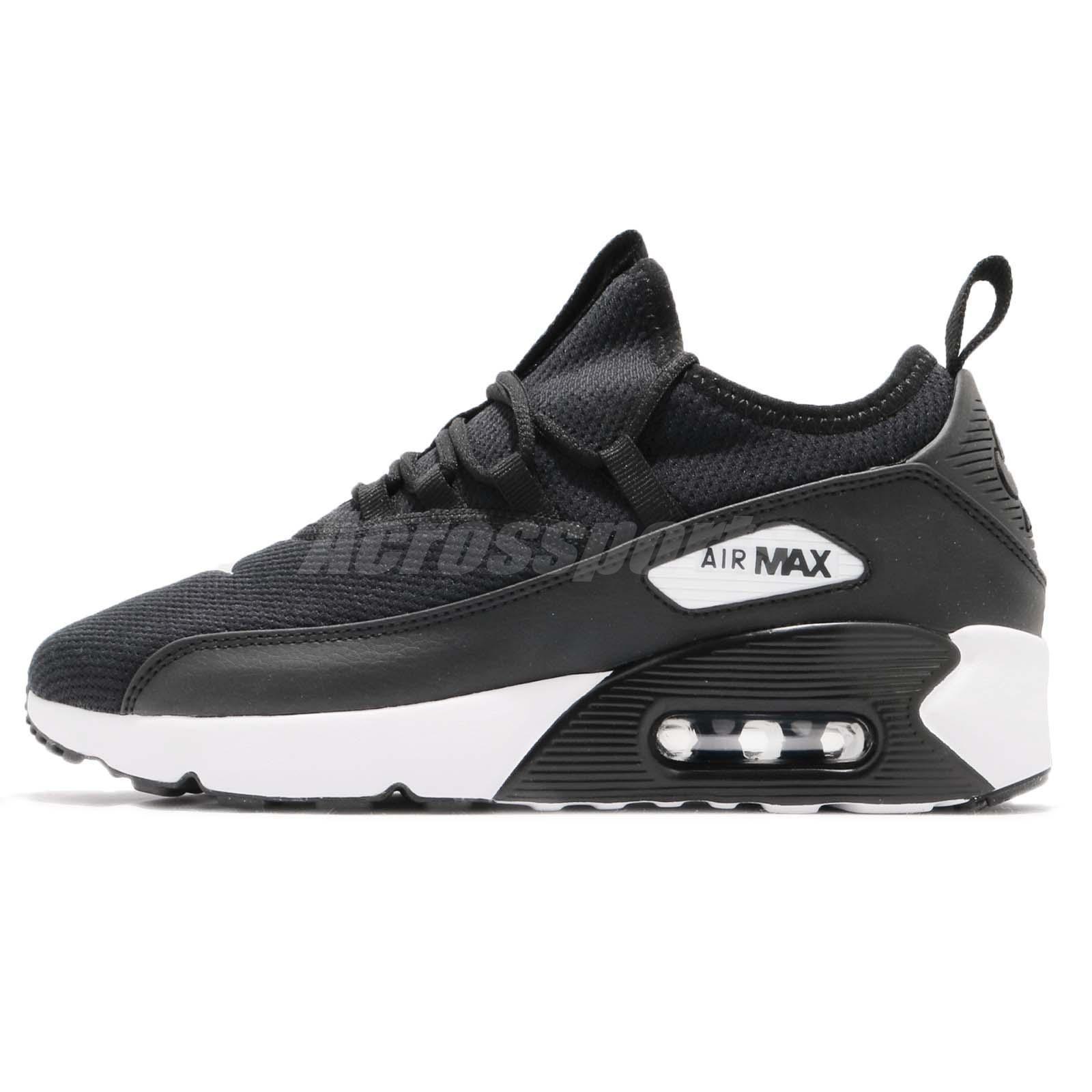 best sneakers 558c8 a5f45 Nike Wmns Air Max 90 EZ Black White Women Running Shoes Sneakers AO1520-003