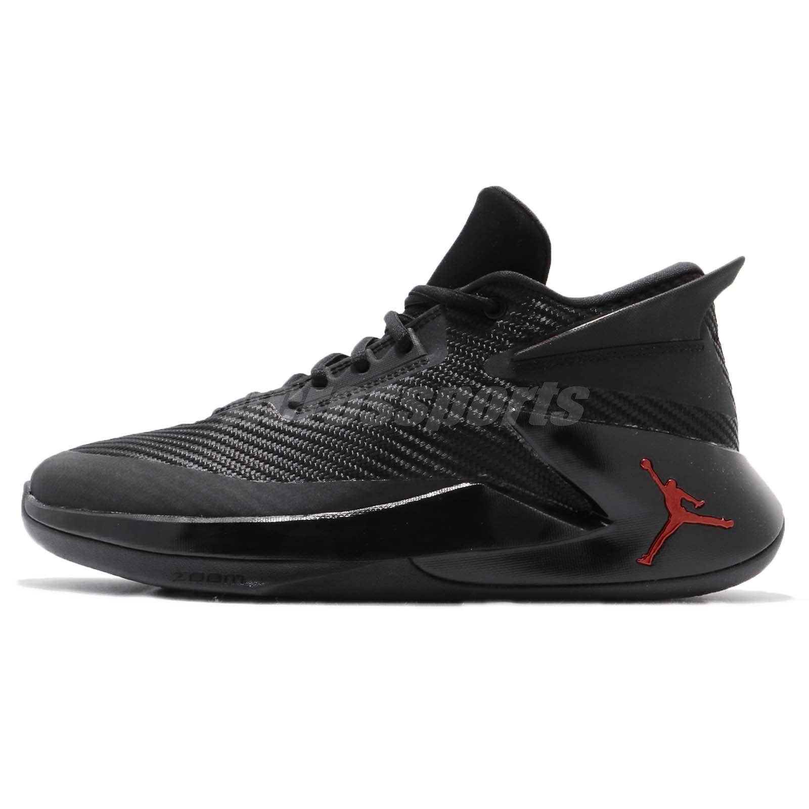 9d2915019bf1 Nike Jordan Fly Lockdown PFX Last Shot Black Red Men Basketball Shoes AO1550 -012