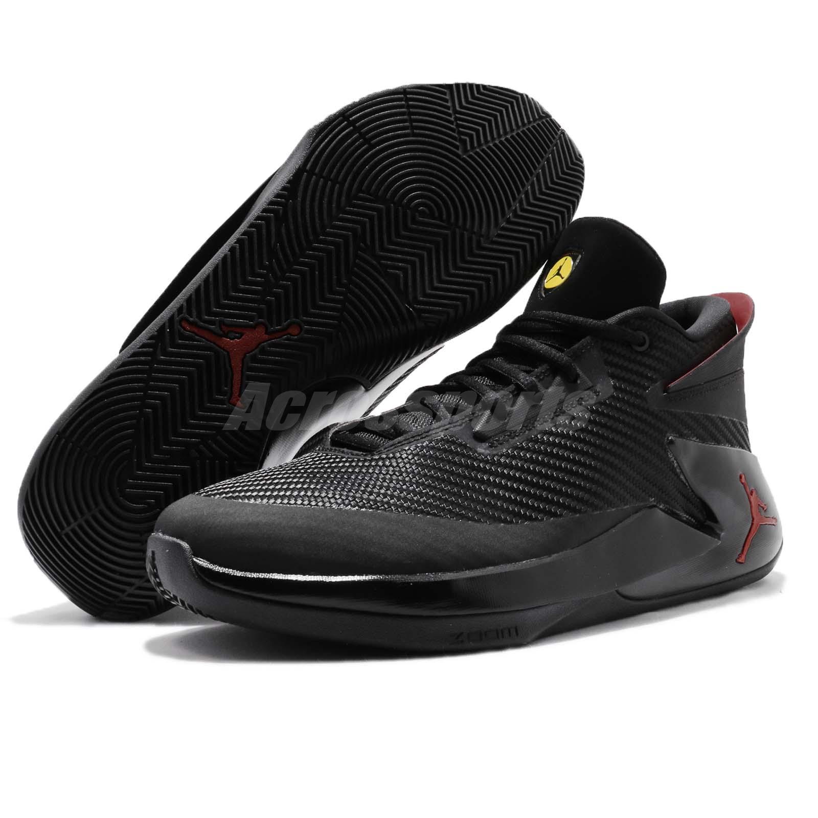 b65c2ce6635a Nike Jordan Fly Lockdown PFX Last Shot Black Red Men Basketball ...