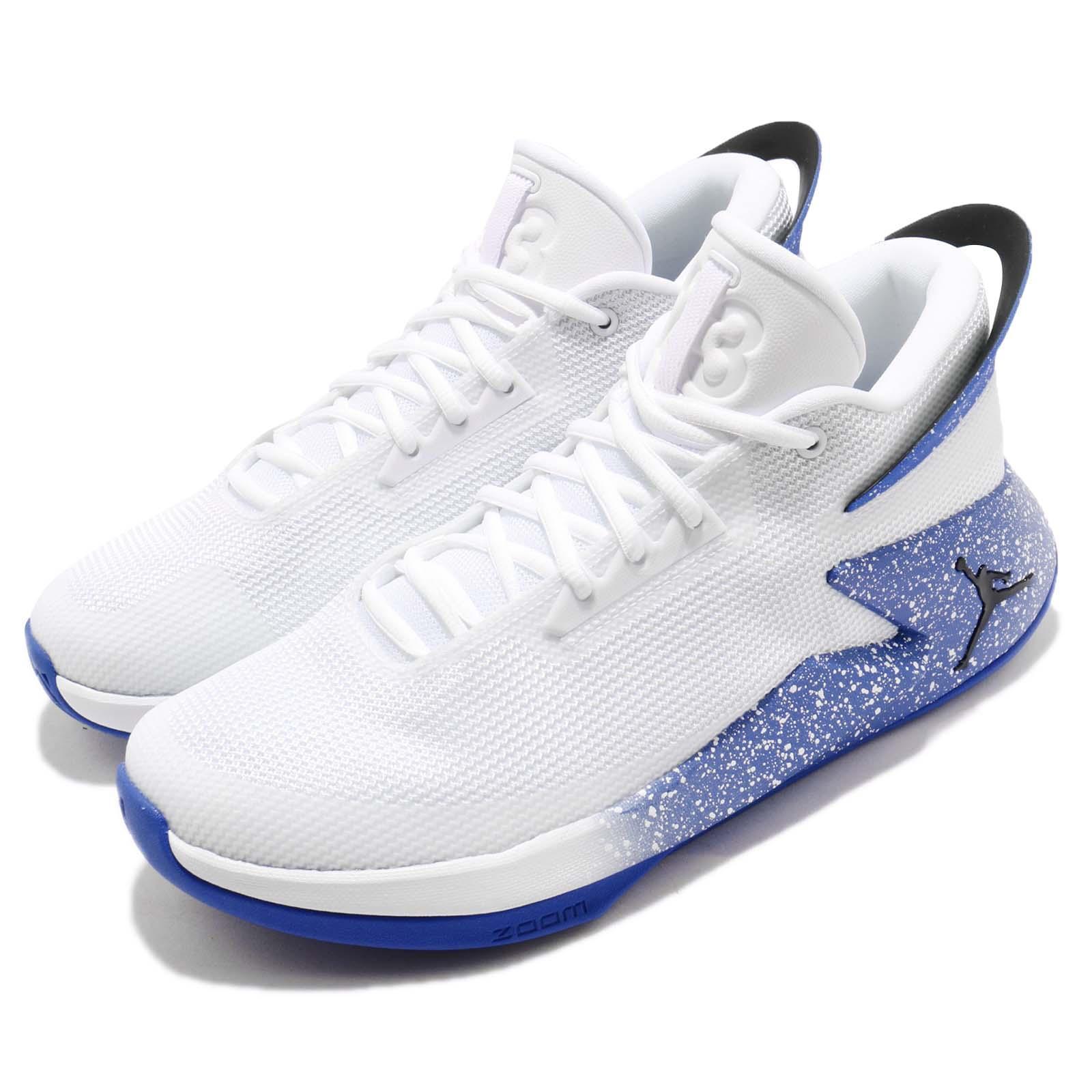 deb0161bac1 Details about Nike Jordan Fly Lockdown PFX White Hyper Royal Men Basketball  Shoes AO1550-104