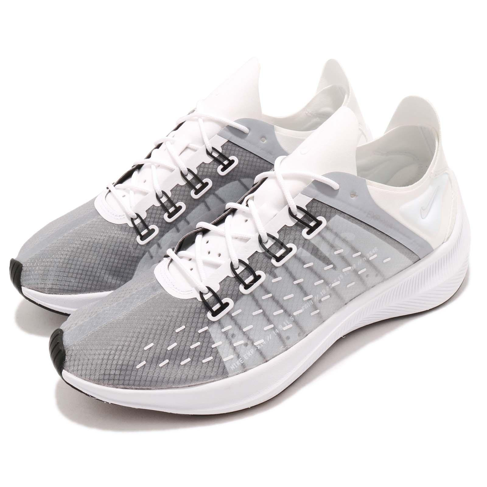 quality design 486d7 e2b63 Details about Nike EXP-X14 White Grey Black Men Running Training Shoes  Sneakers AO1554-100
